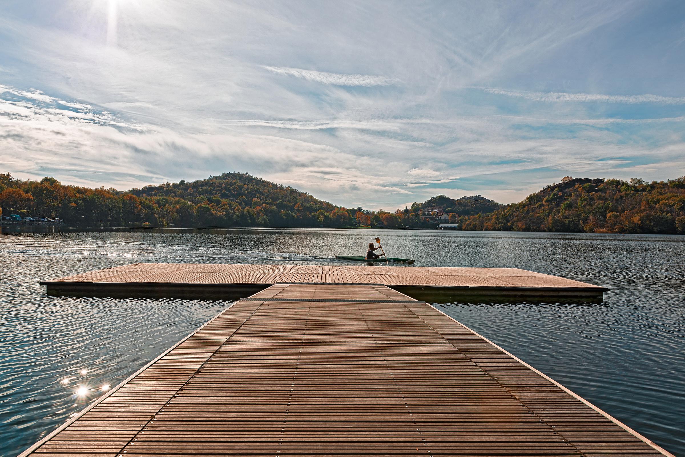 Scorcio sul lago...