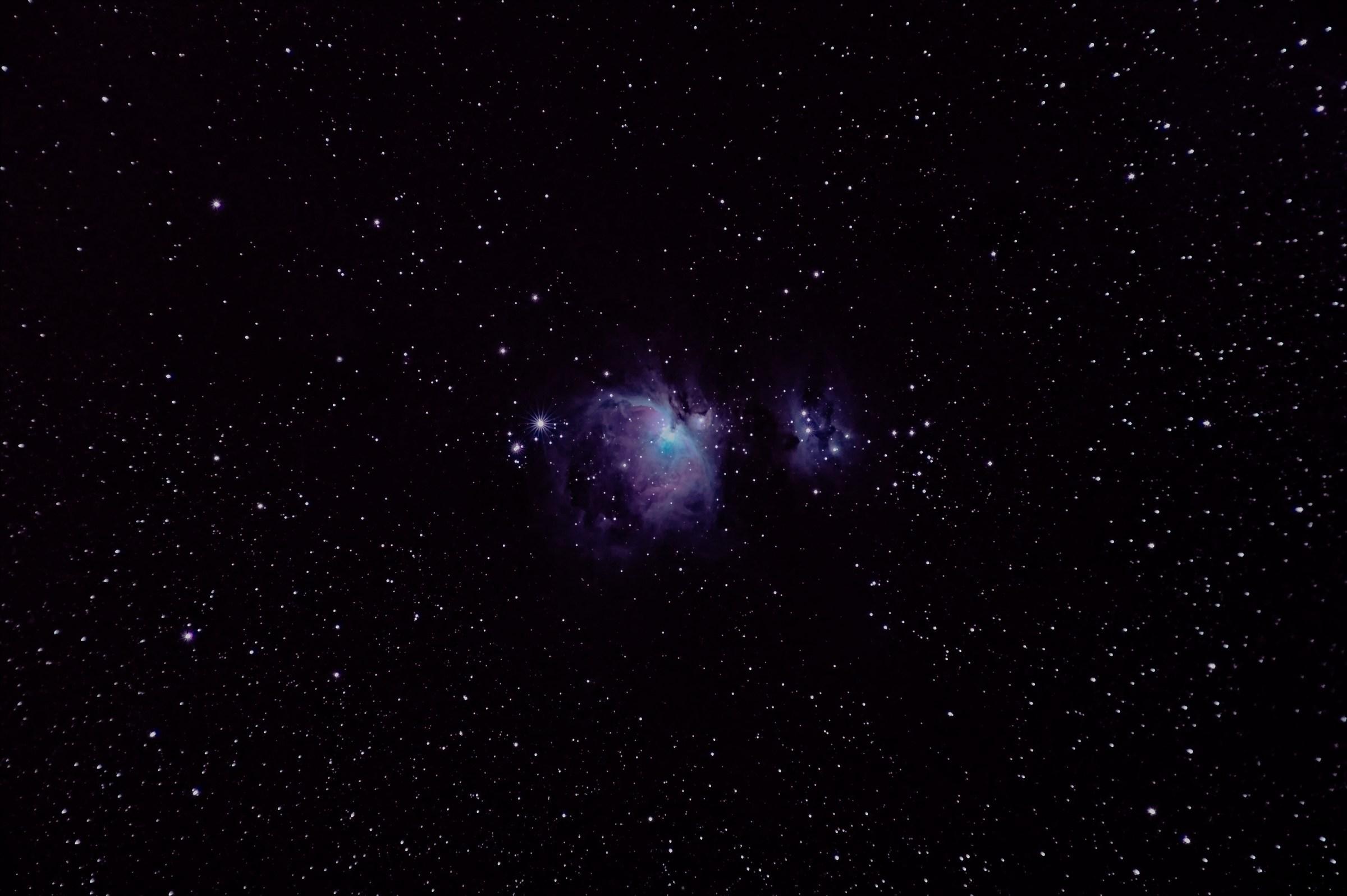 Orione (foto eseguita da mio figlio)...