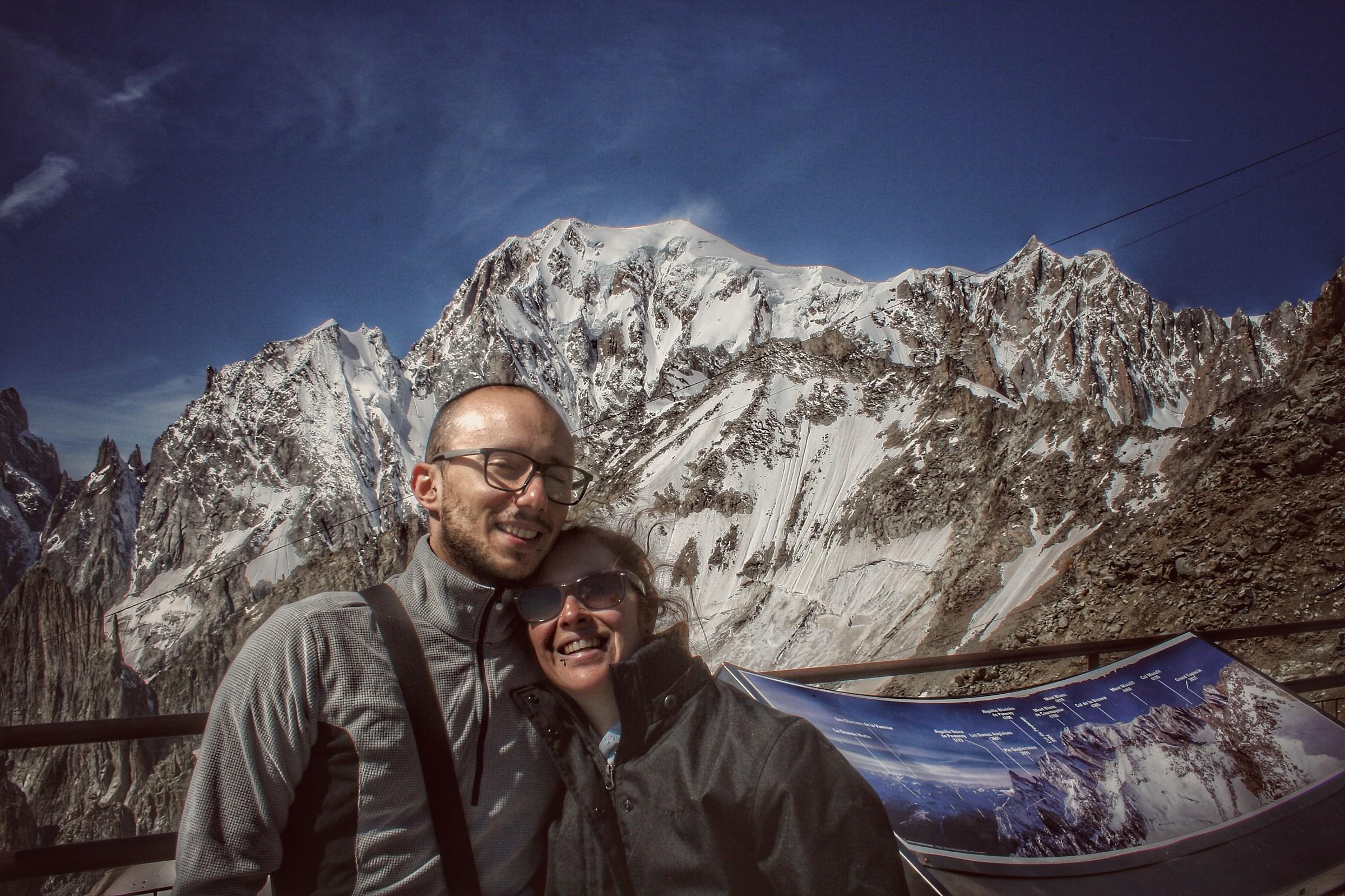..the Mont Blanc, a dream come true .....
