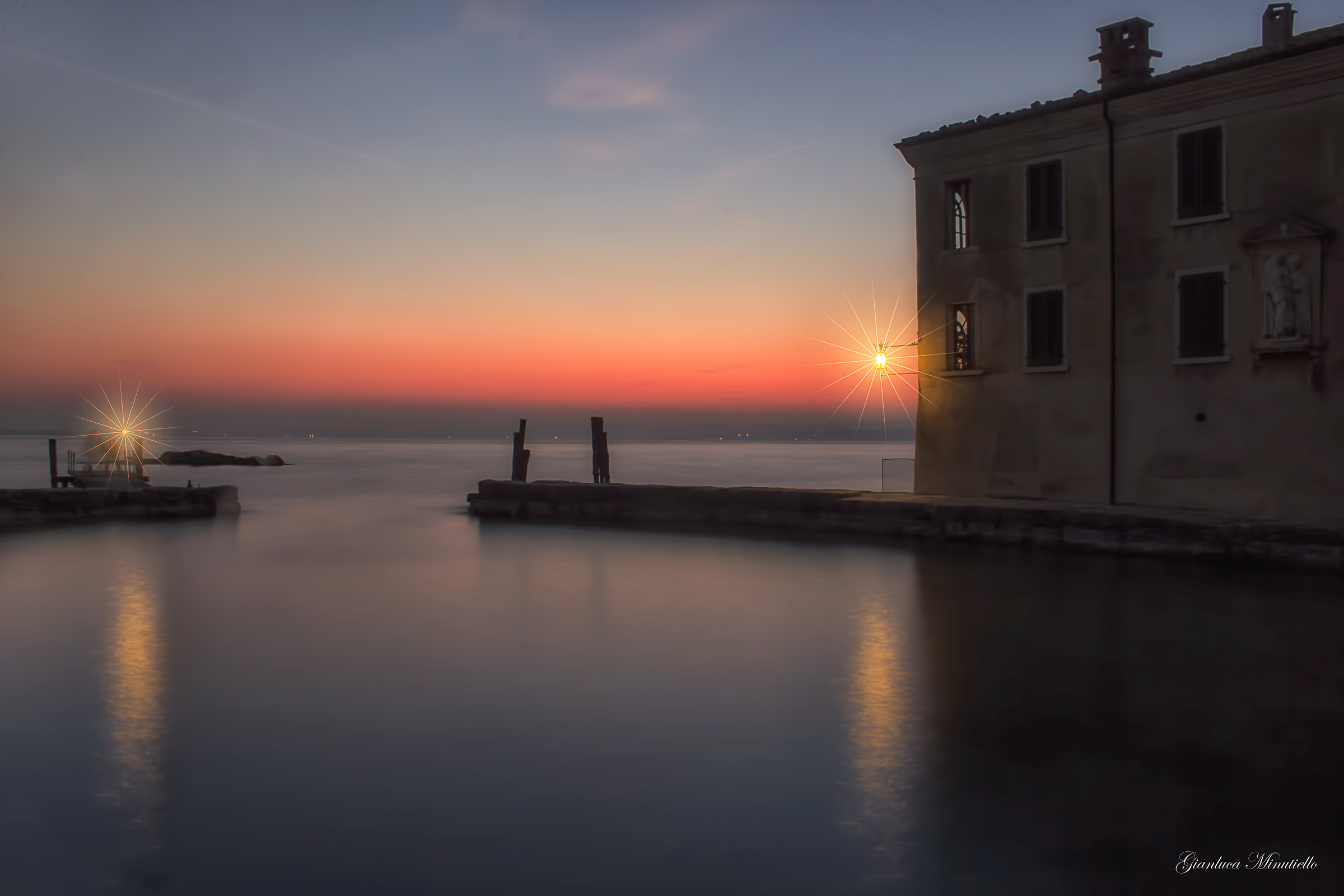 sunset to San Vigilio...