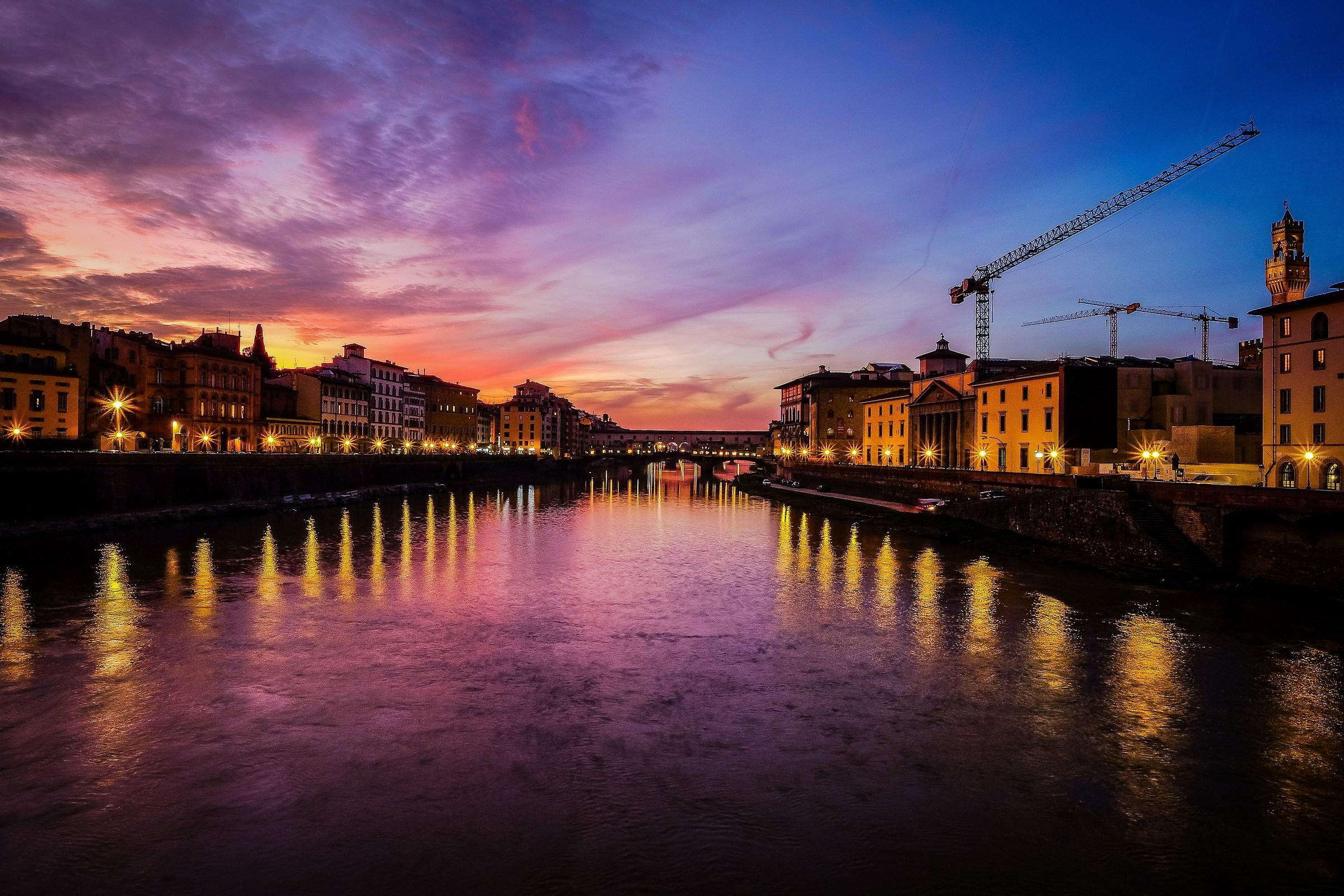 Firenze, fine pomeriggio di novembre...