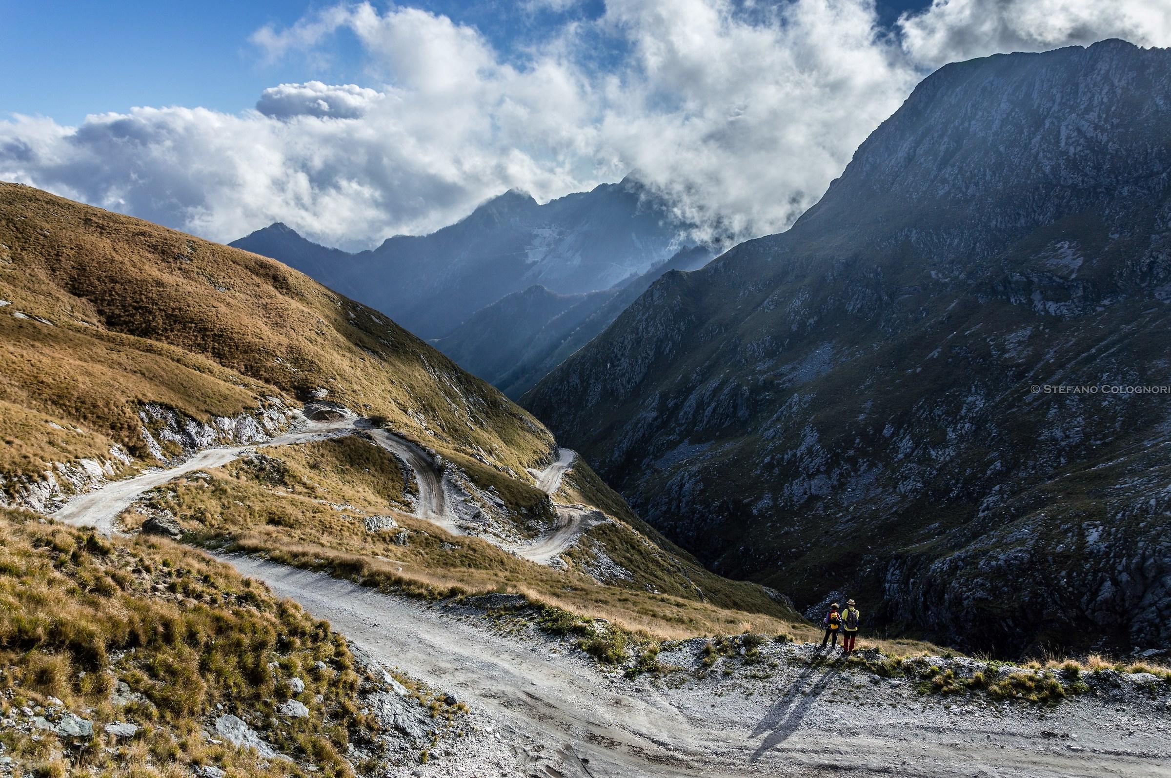 Le montagne che scompaiono......