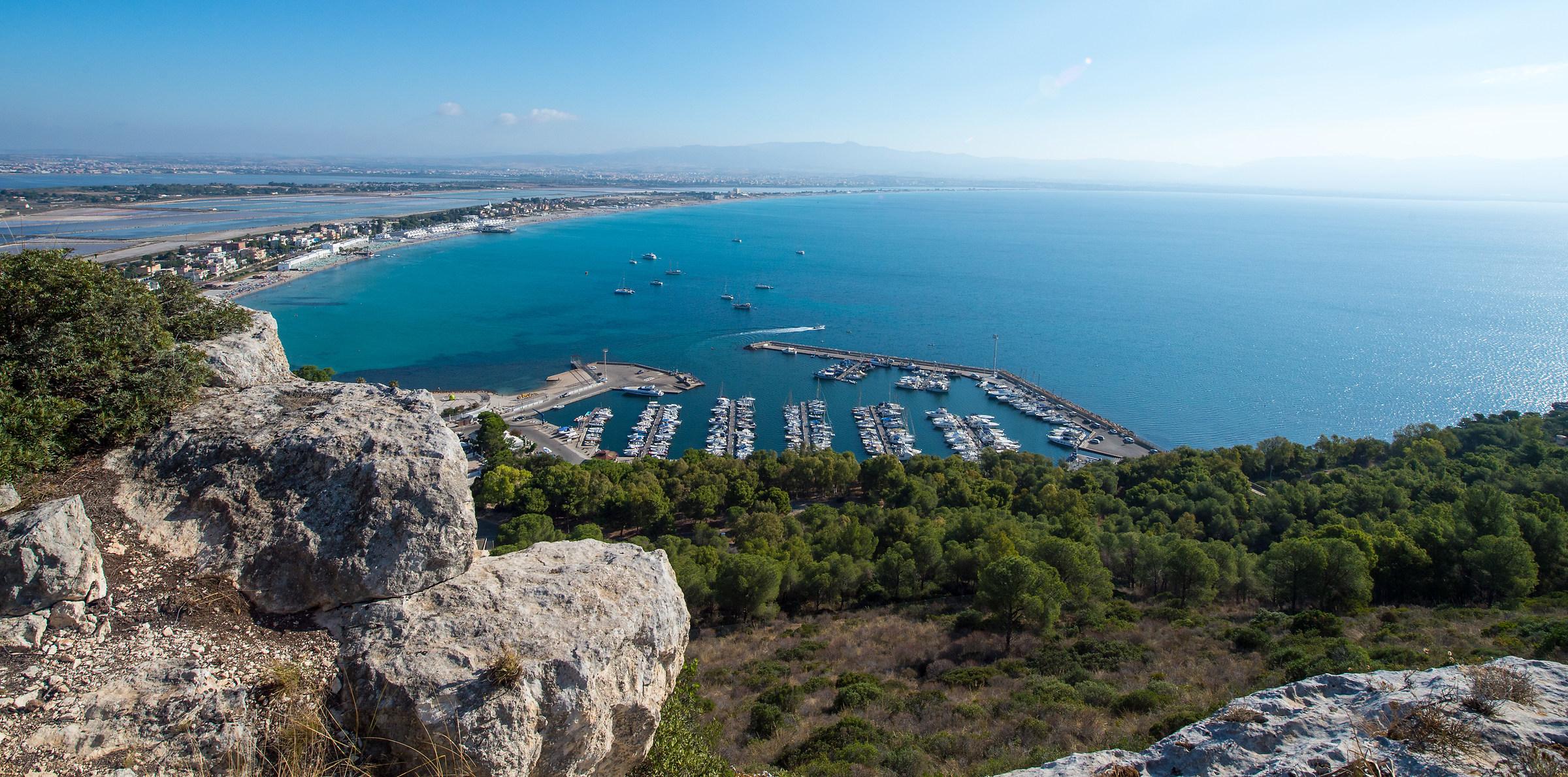 """the small marina harbor """"cagliari""""..."""