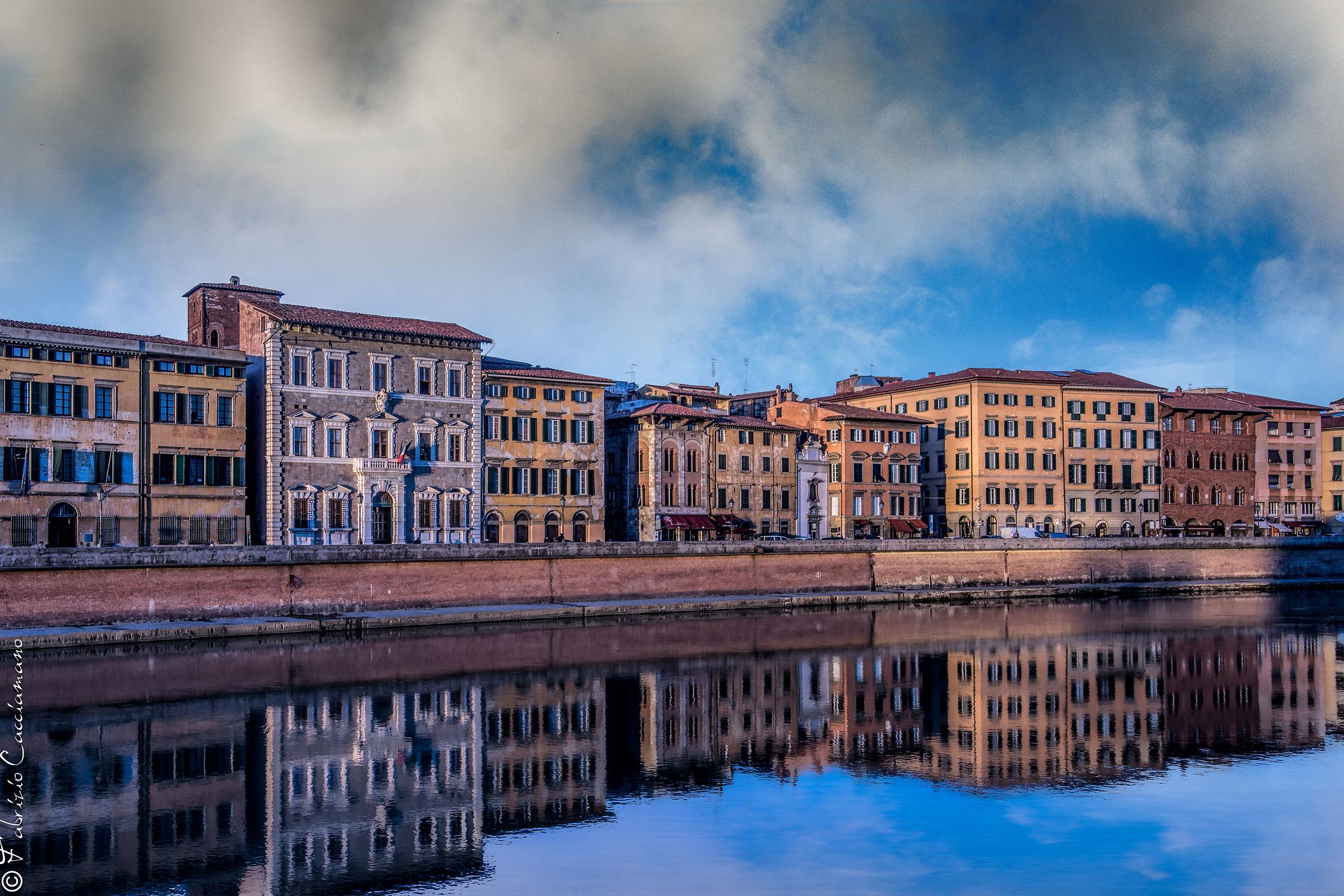 Riflessi nell'Arno...