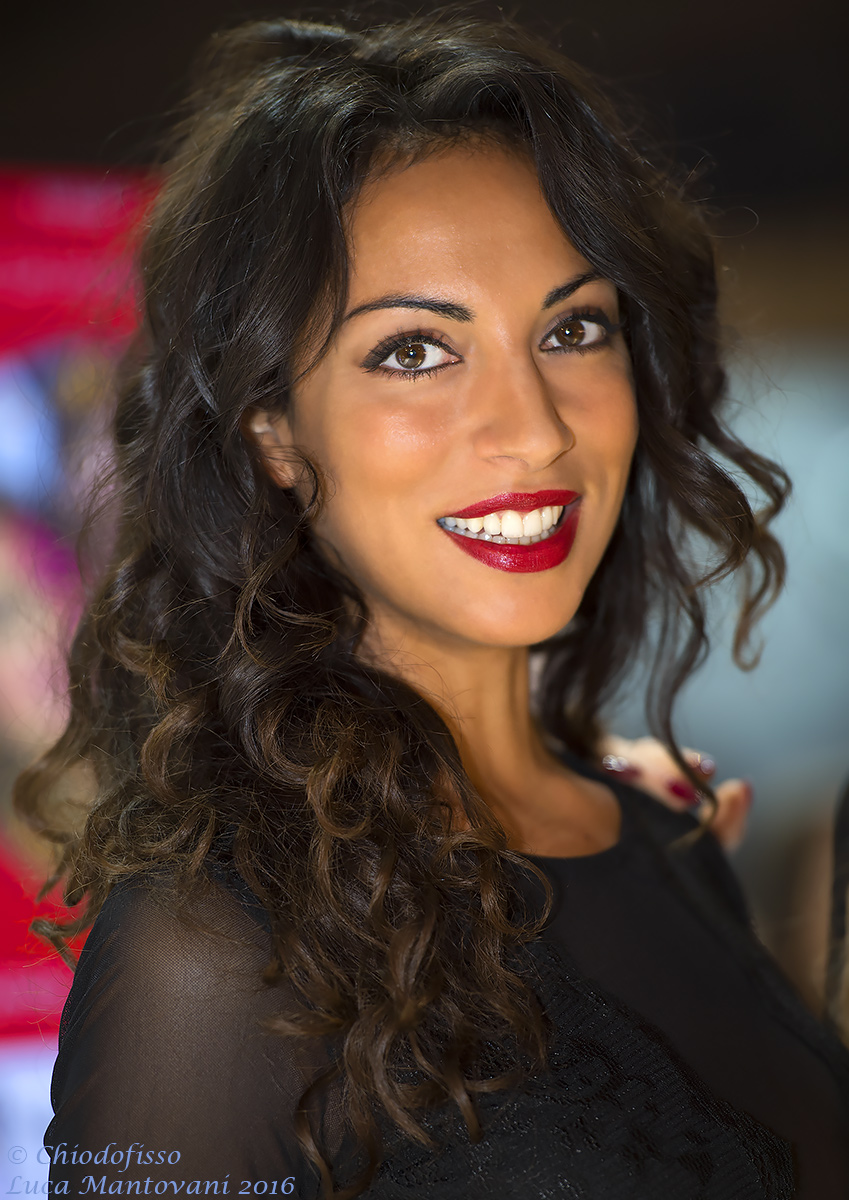 A beautiful smile at EICMA 2016...