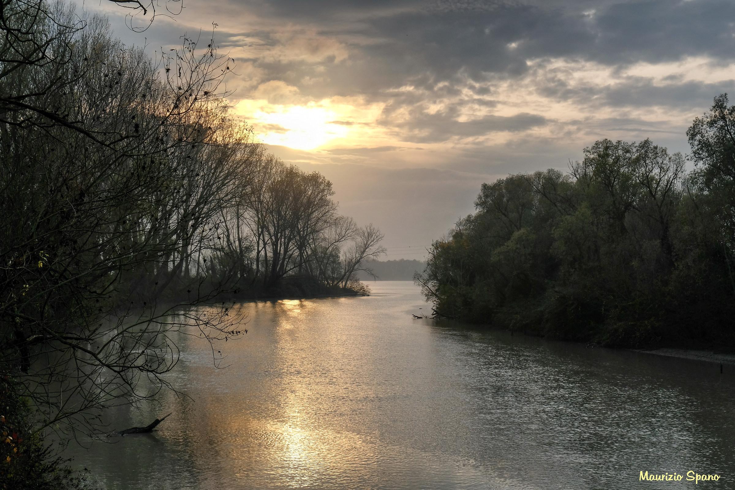 Delta del Po (inizio Po di Maistra)...