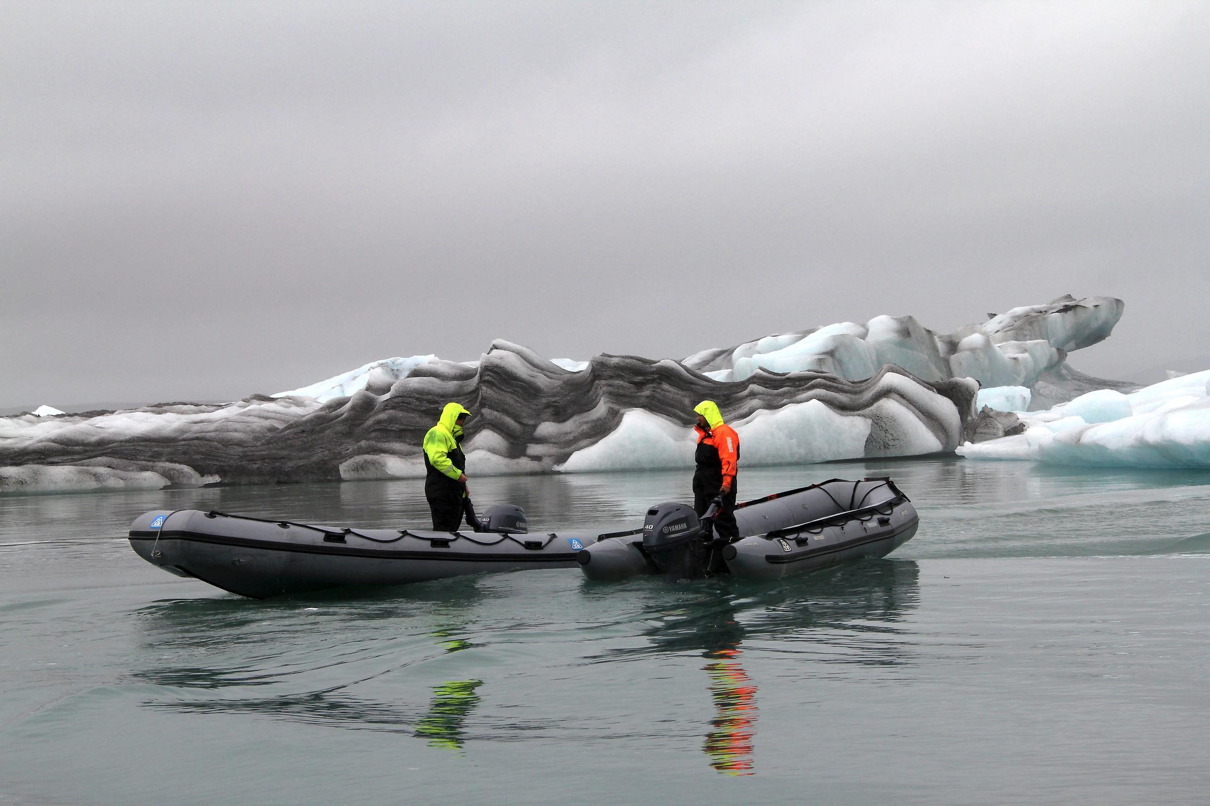 Iceland - Duel between the glaciers...