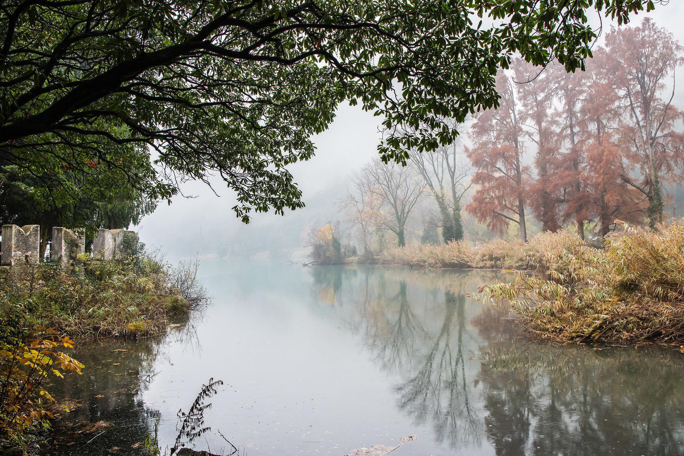Autumn at Lake Toblino...