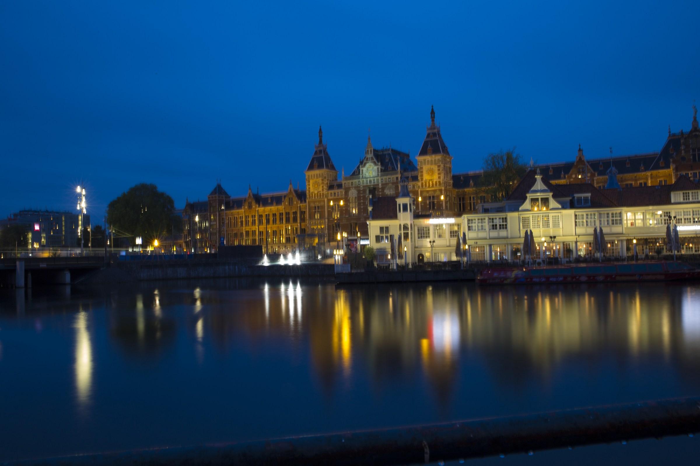 Amsterdam by night...