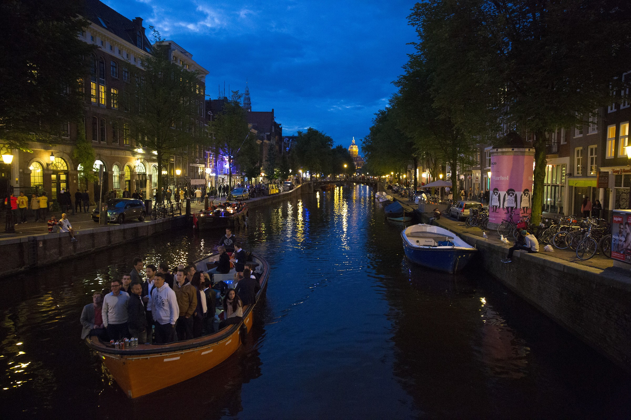 The canals of Amsterdam 7...
