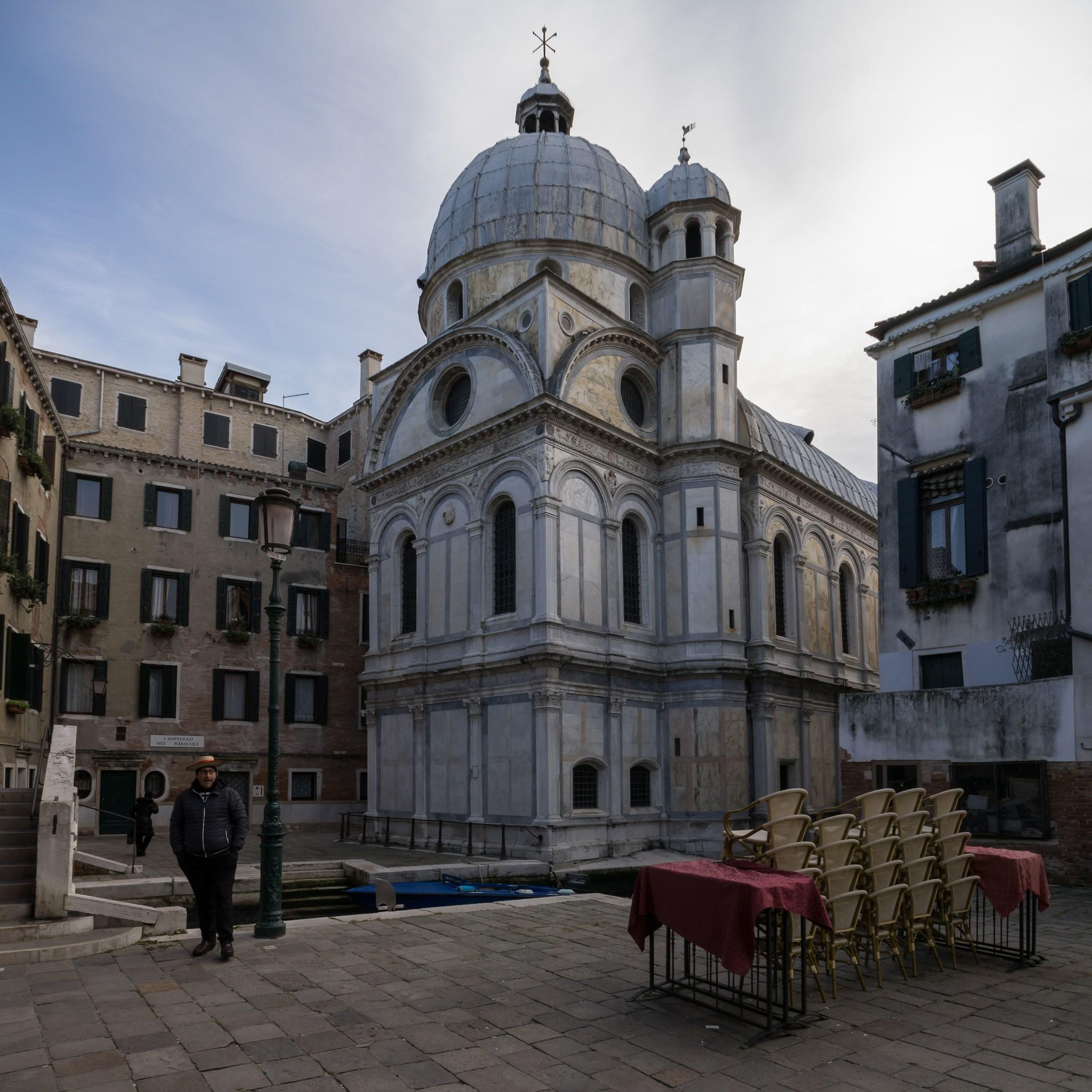 Abside della chiesa di Santa Maria dei Miracoli...