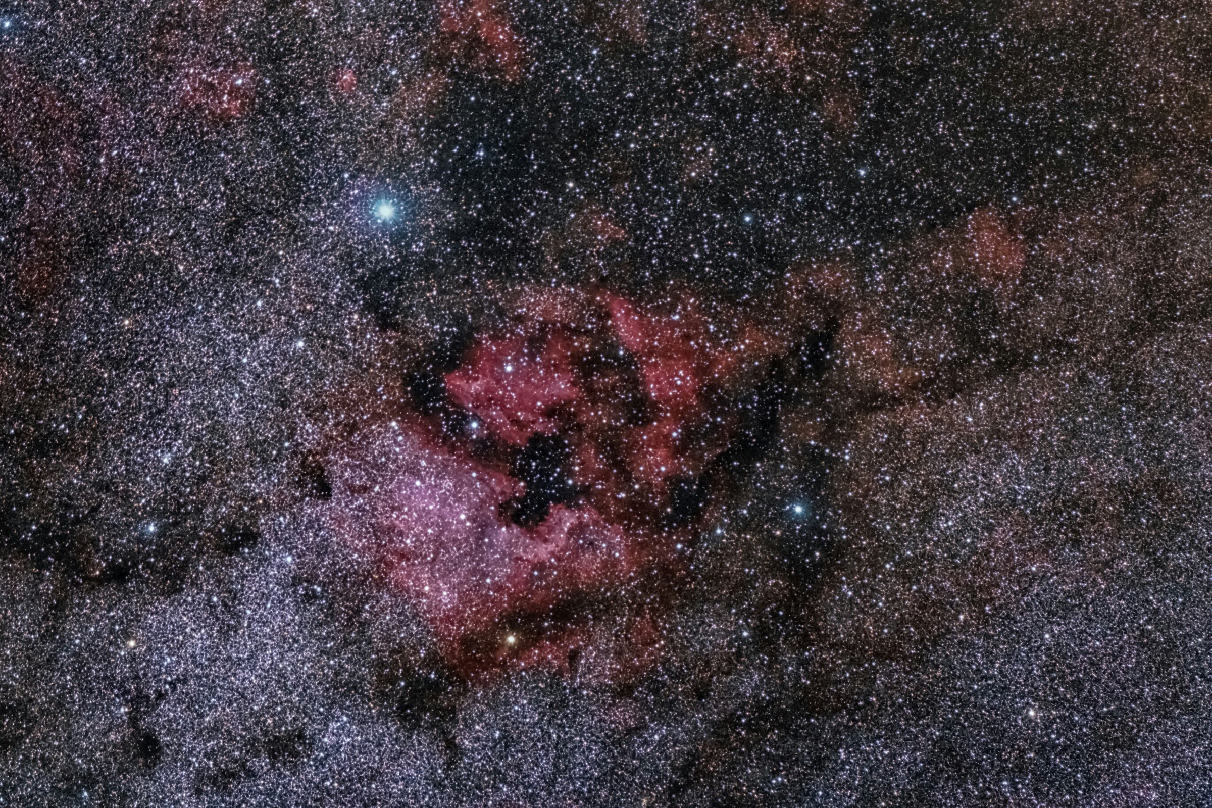 NGC 7000 IC-5070-ic 5067...