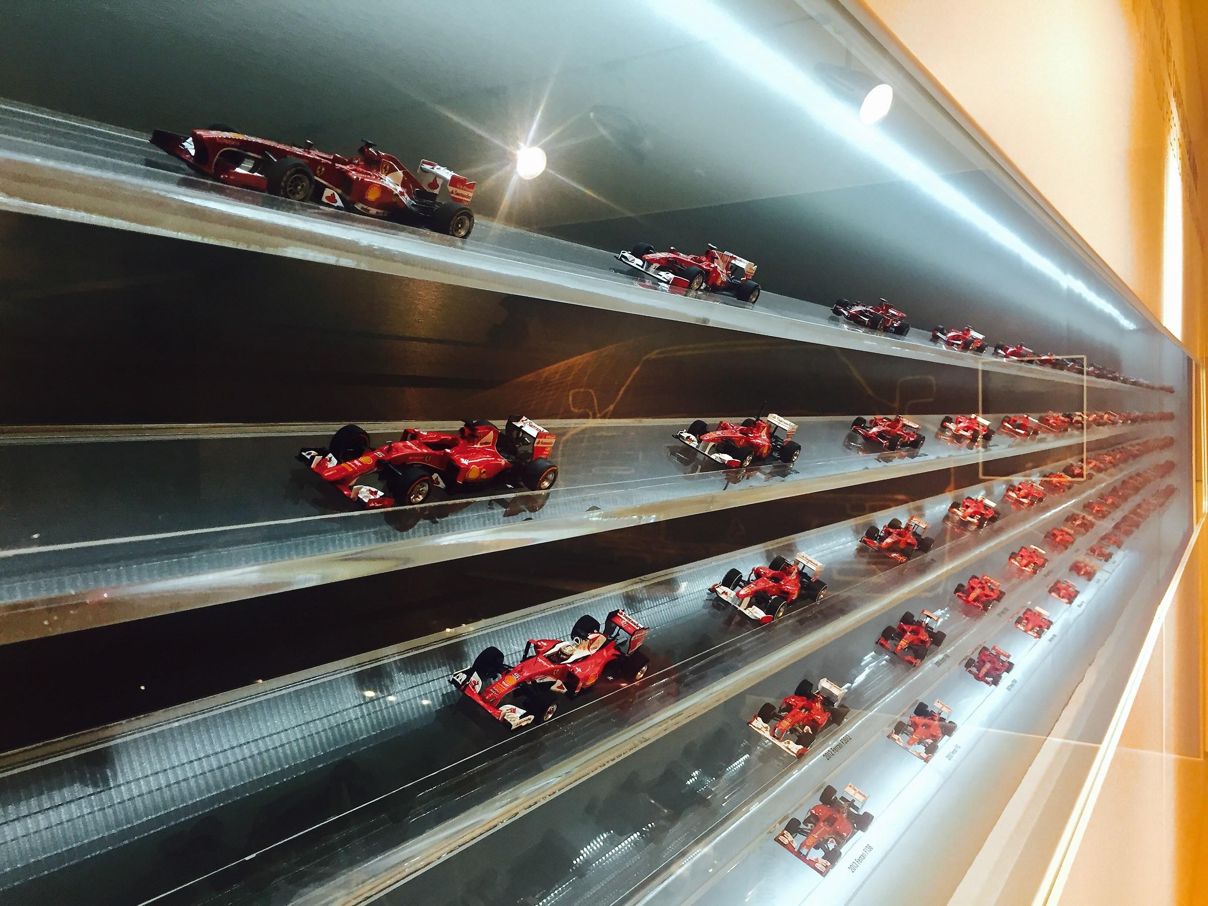 The Ferrari Museum...