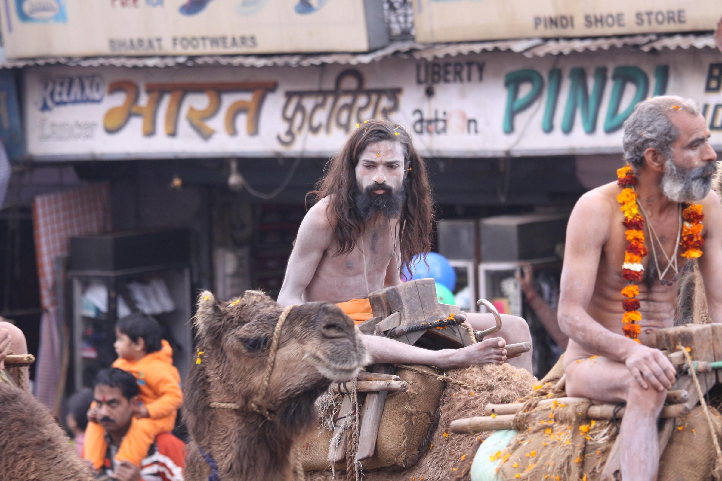 9574 Parade Kumbh Mela Haridwar 2010...
