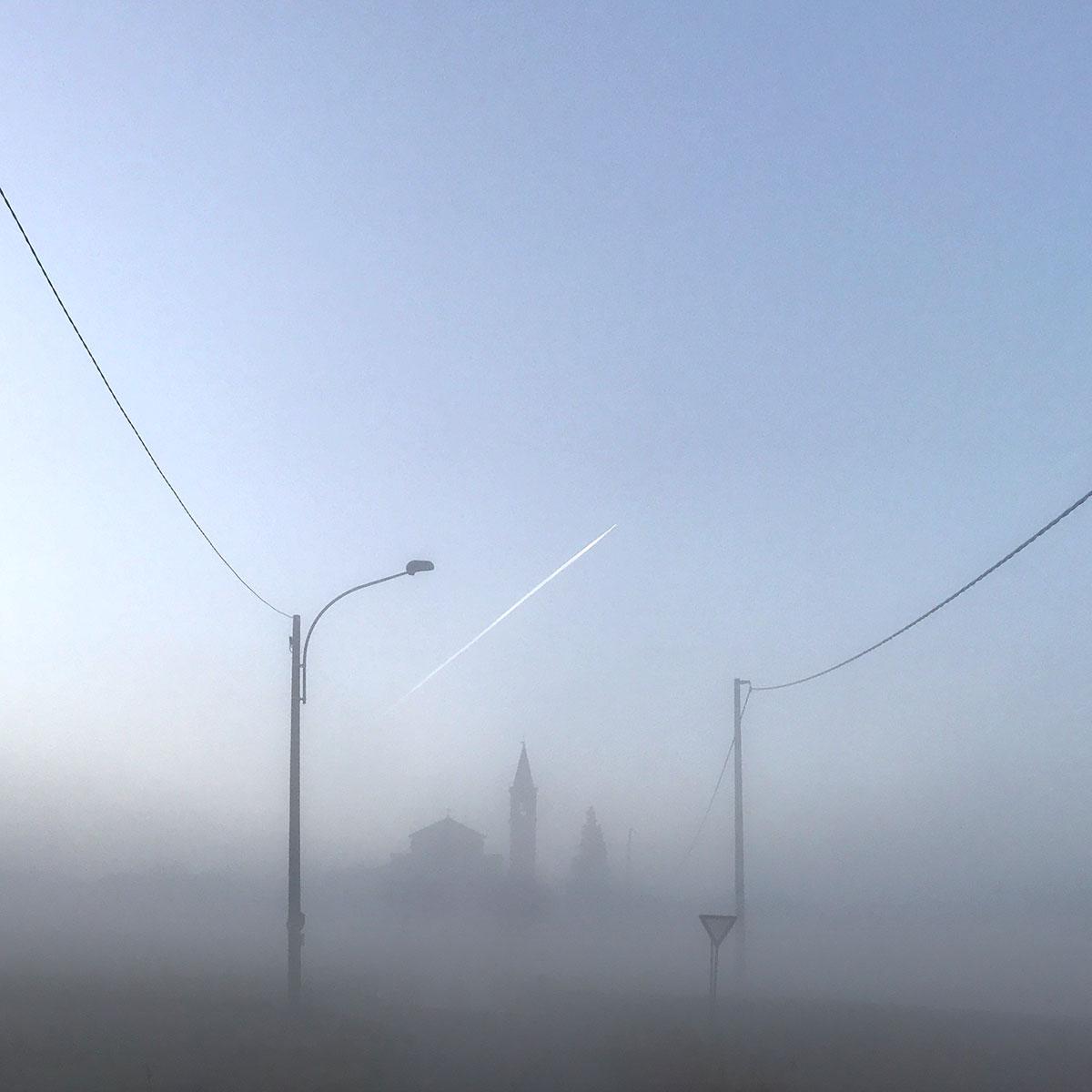 Over the fog...