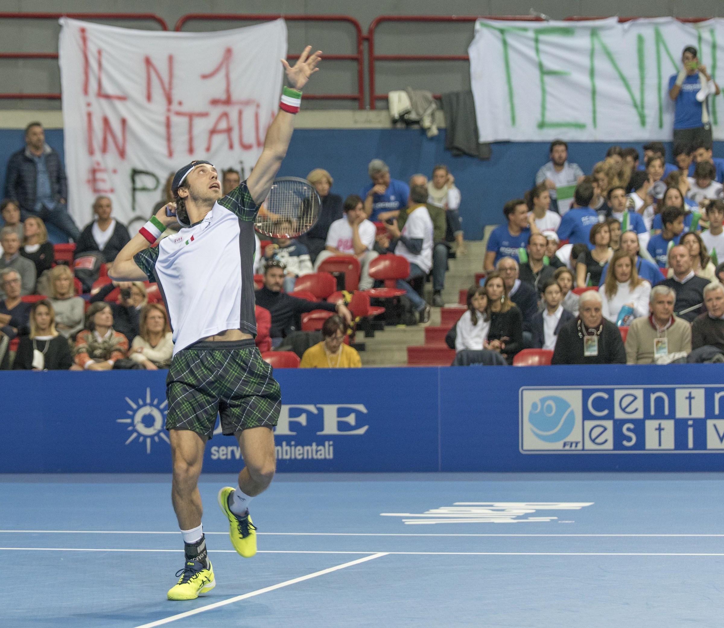 A1 tennis final...