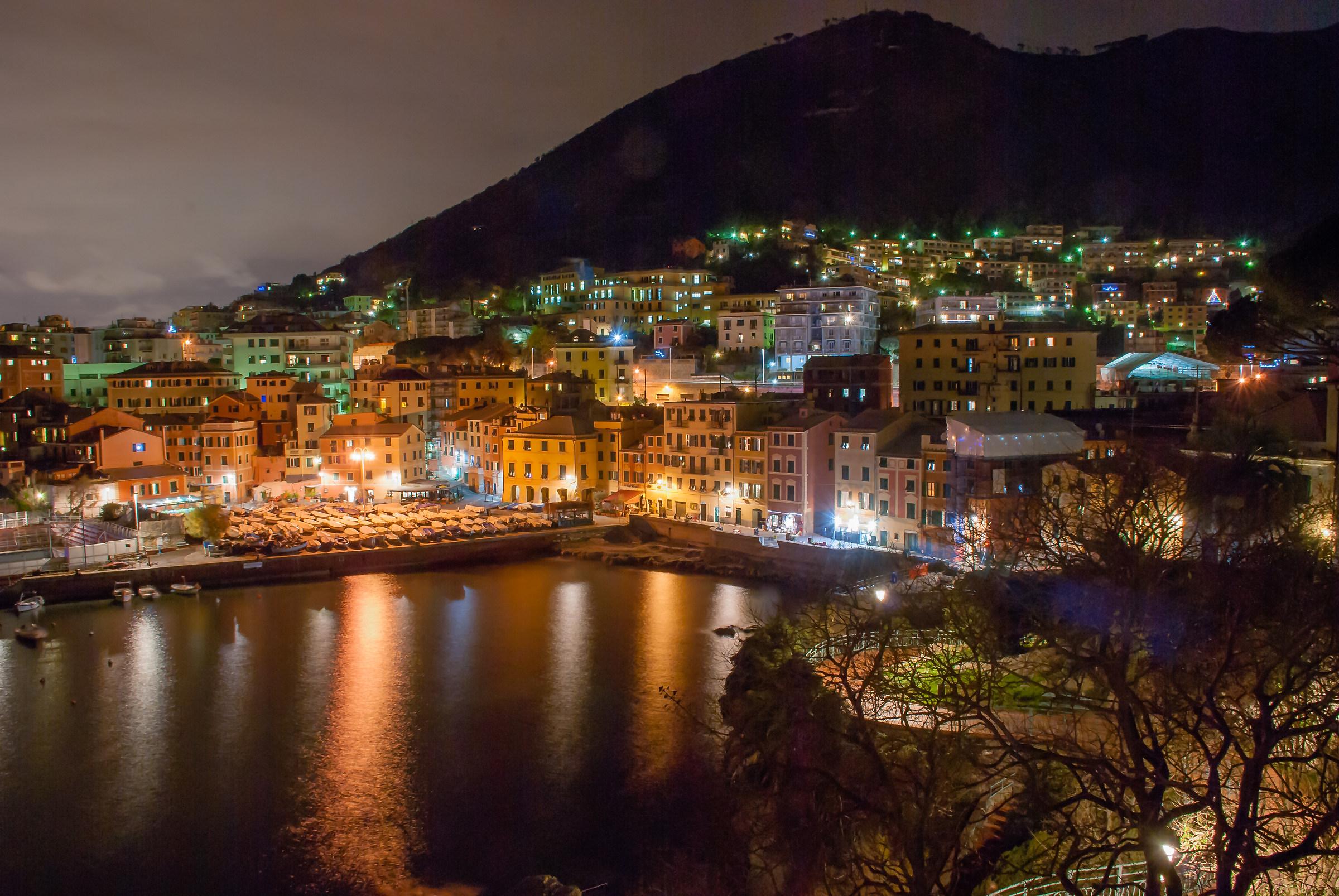 Night, Nervi Porticciolo...