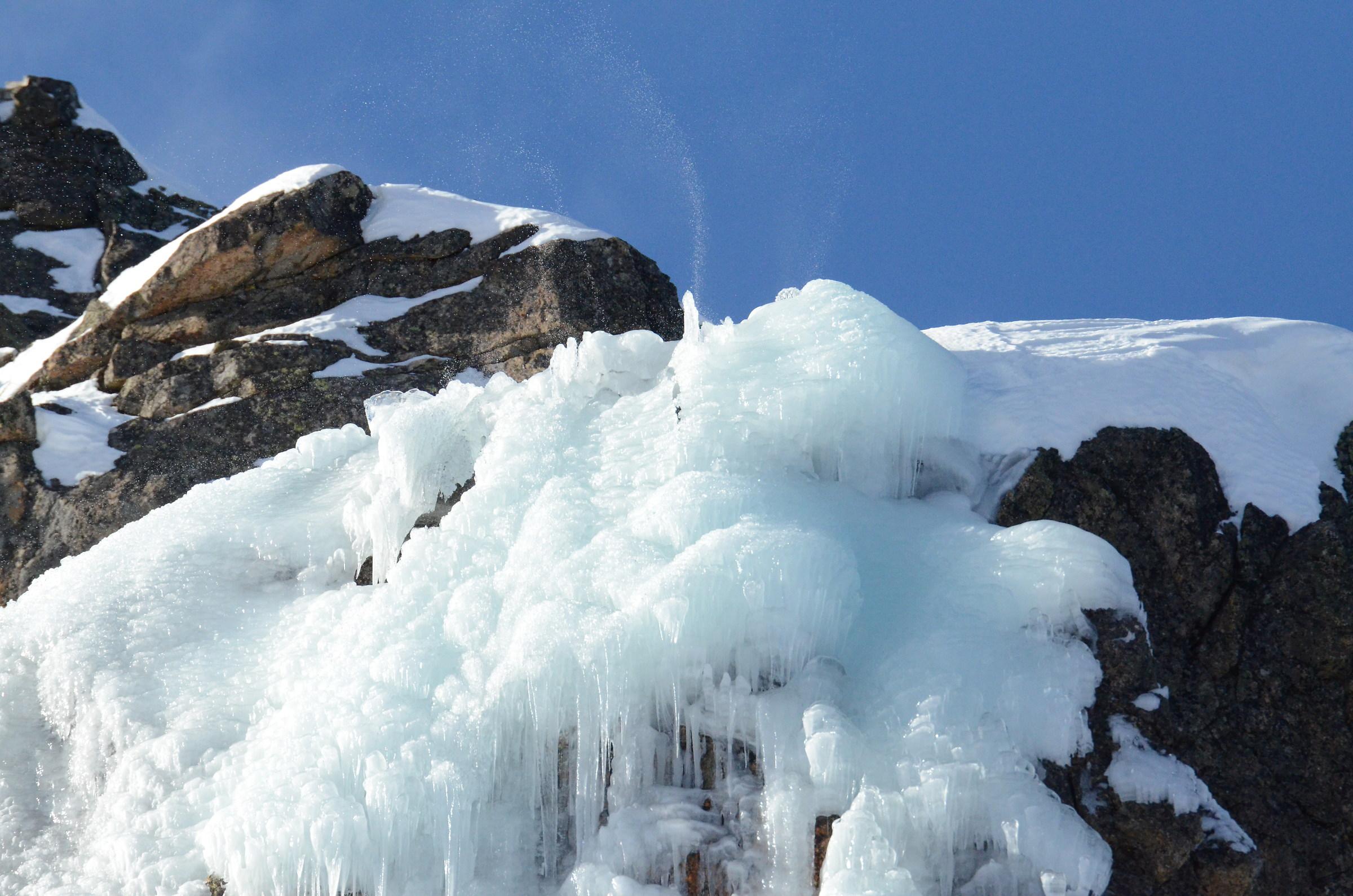 phenomena called Glaciers...