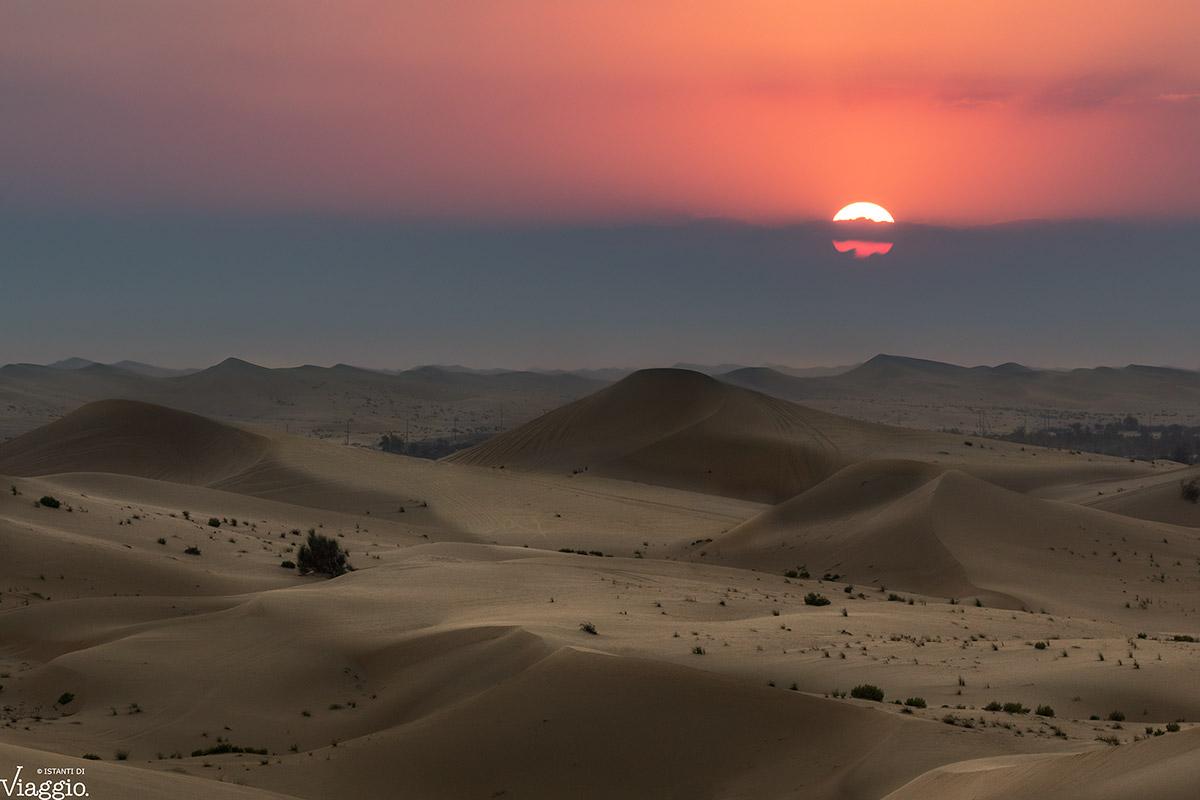 Deserto al tramonto...