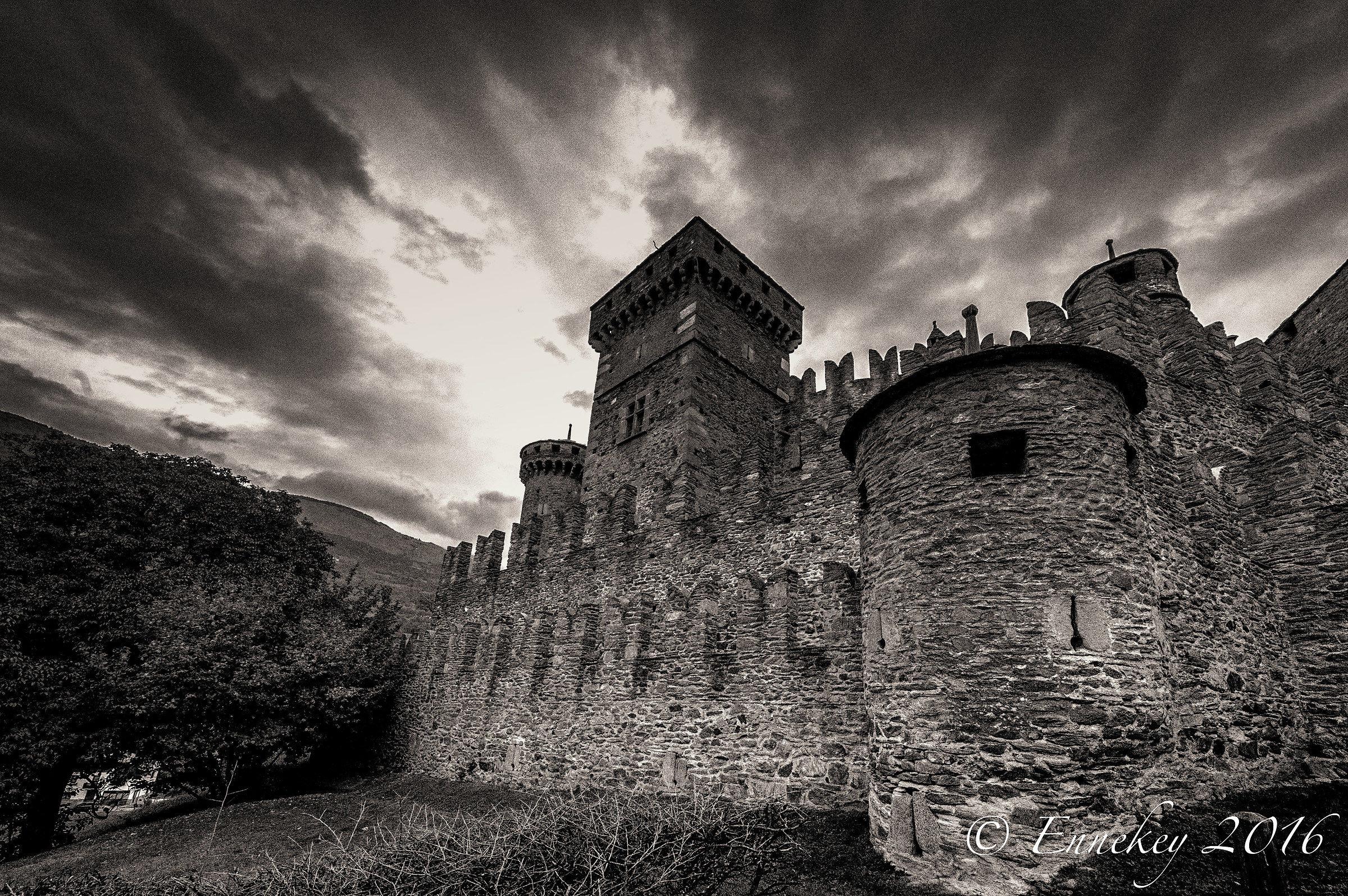 Al castello....