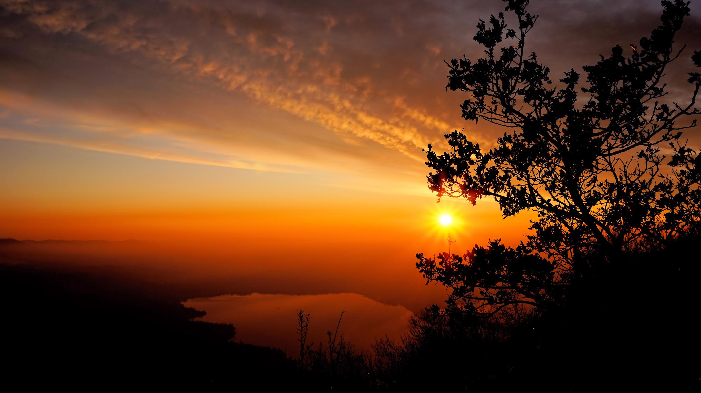 Tramonto Monte Barro...