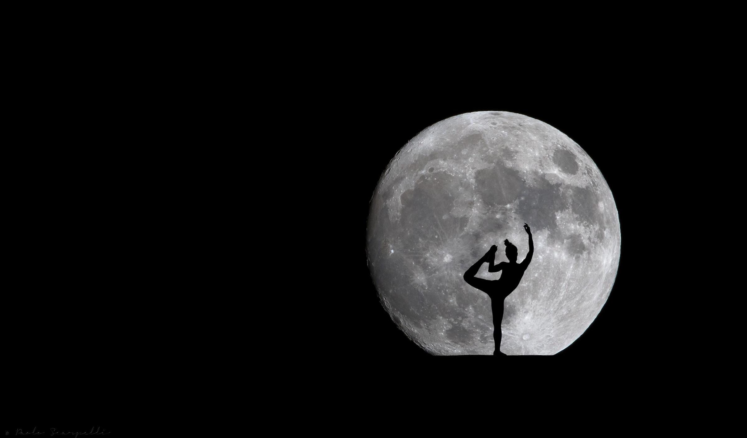 Dancing in the moonlight...