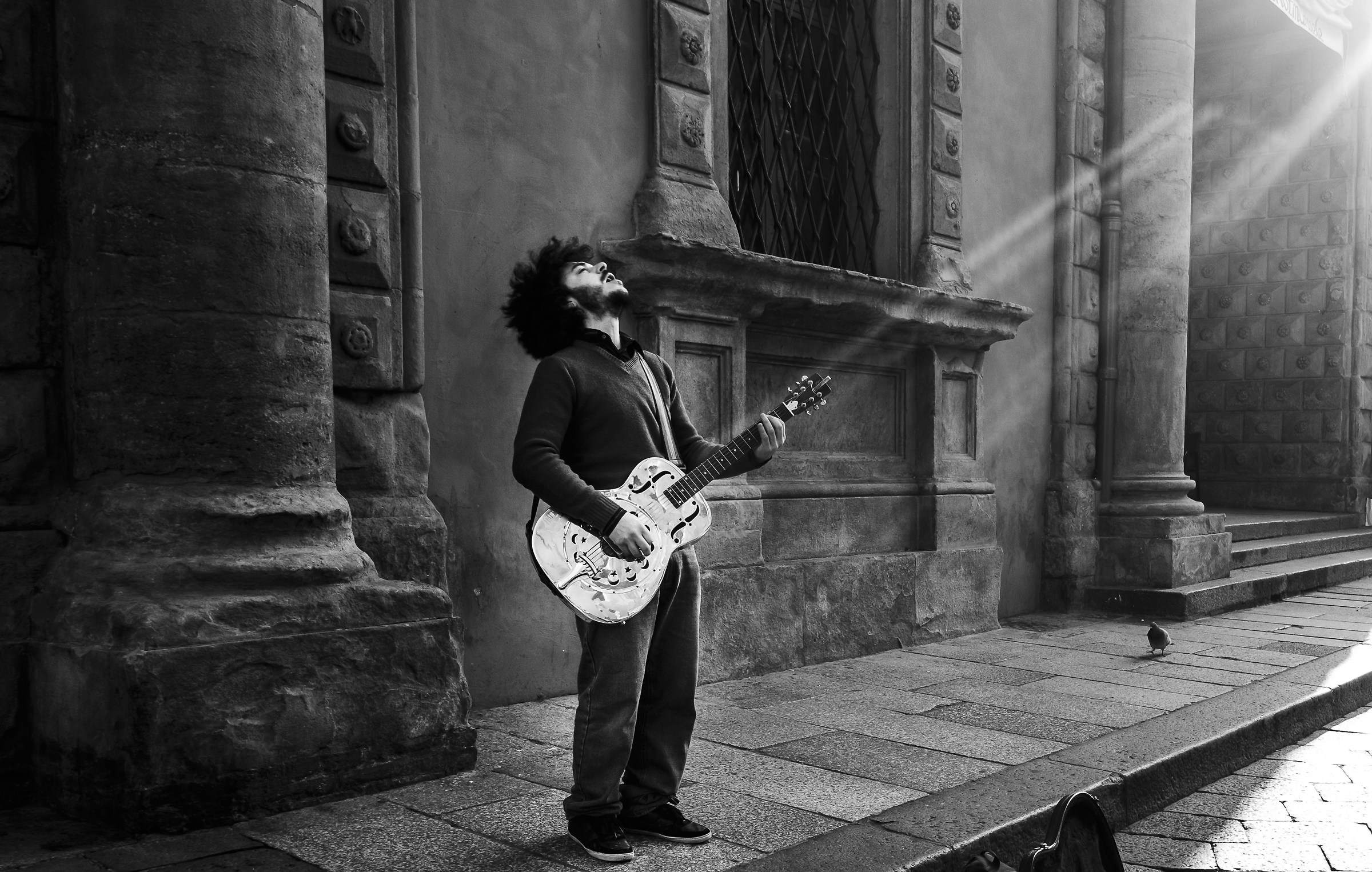 Guitar rays...