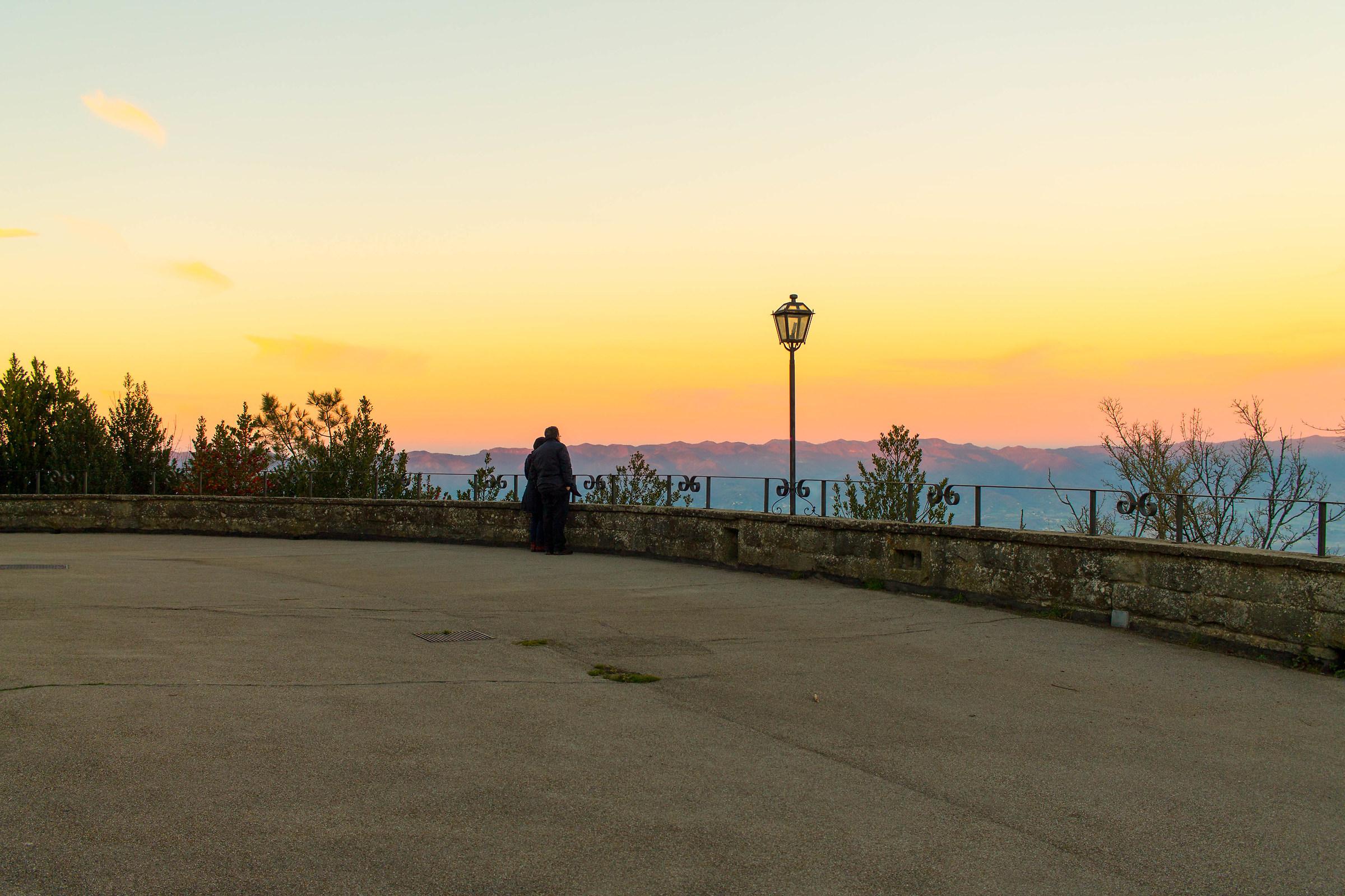 love at sunset...