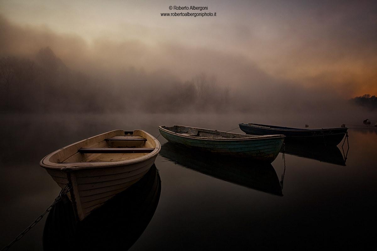 Three Boats...