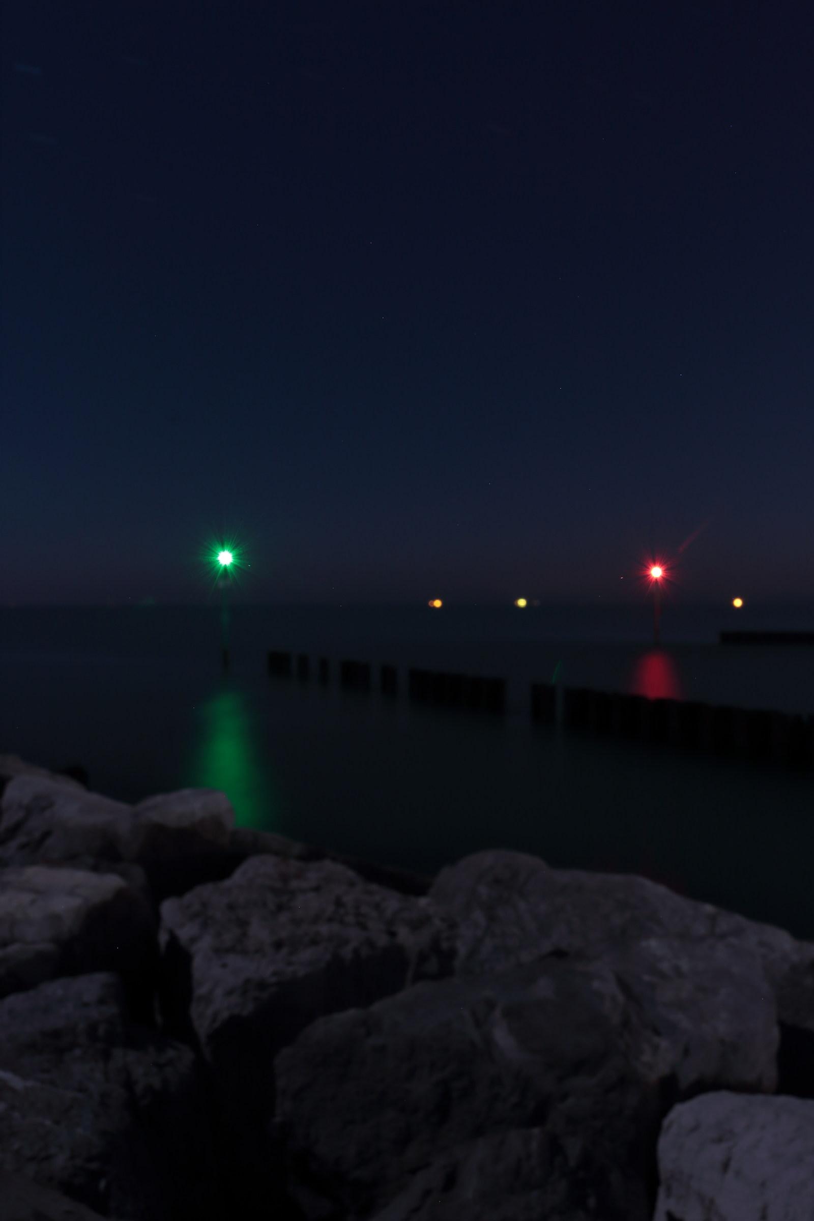 entrance lights...