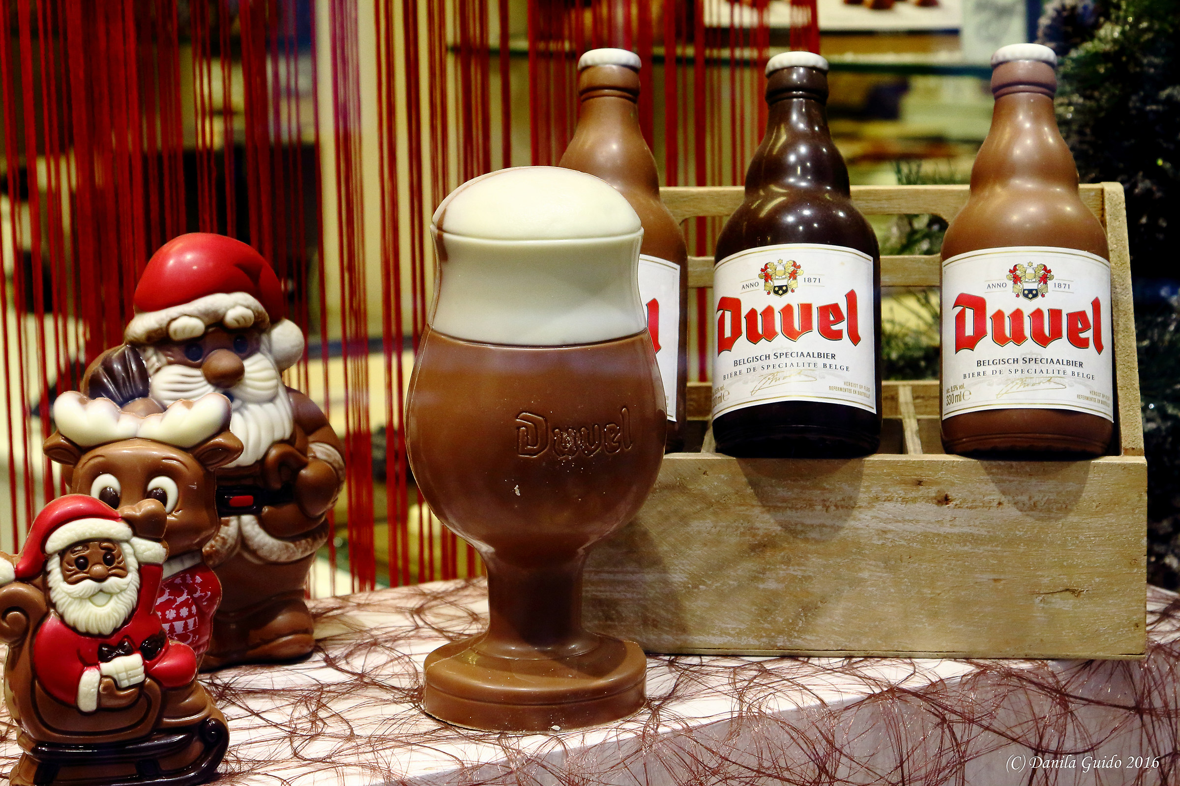 Chocolate beer!...