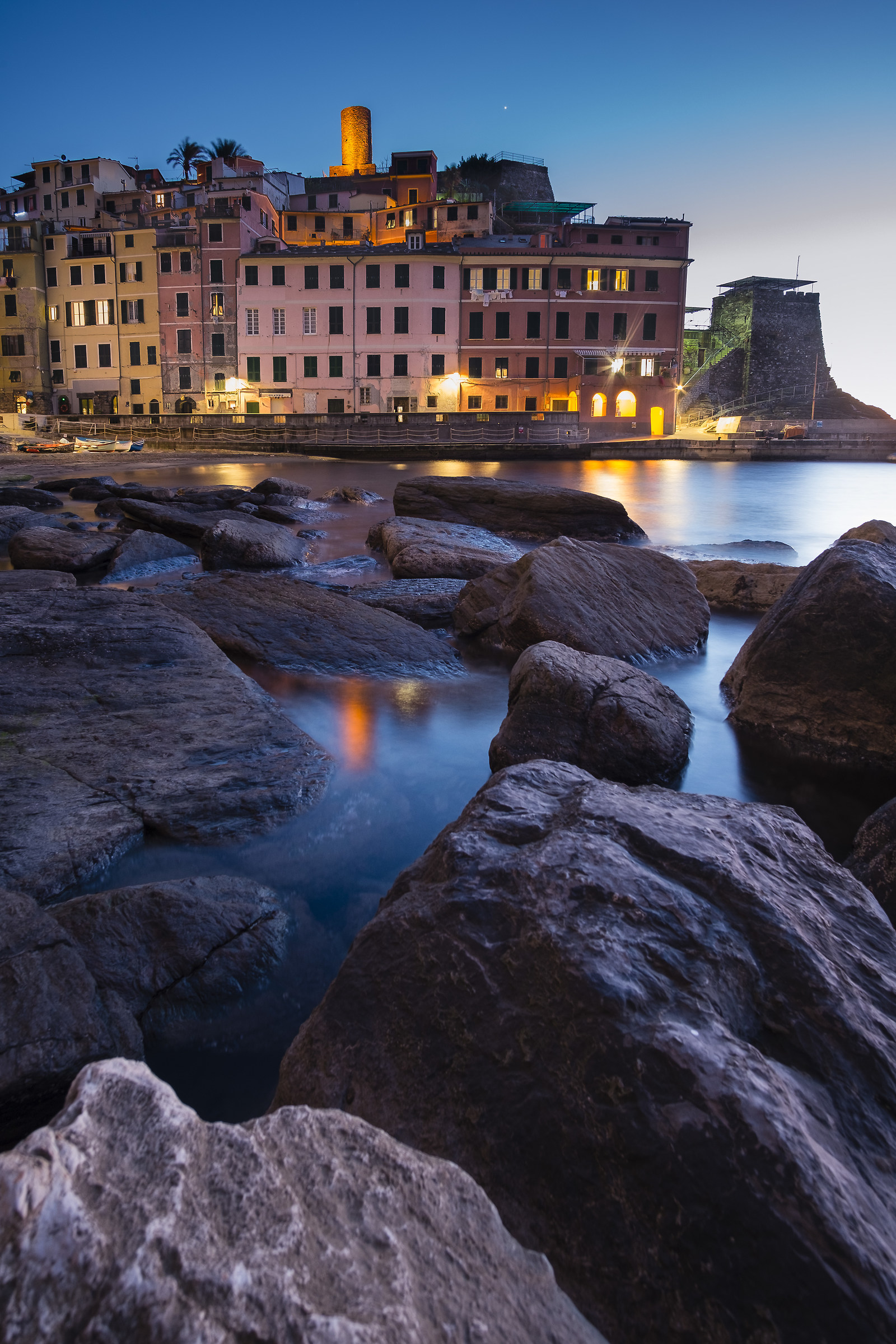 Vernazza Now Blue...