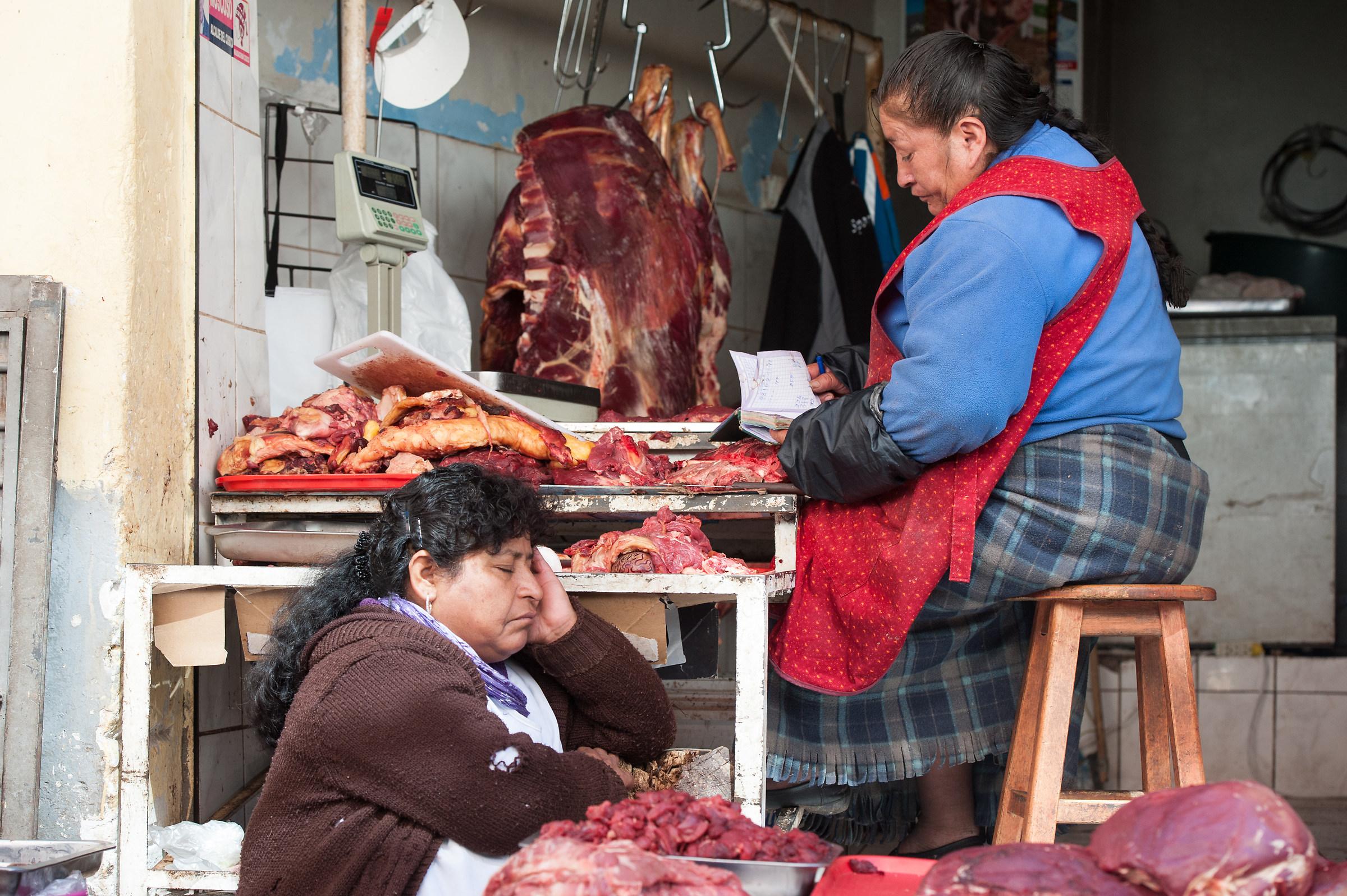 Mercato di Cusco....