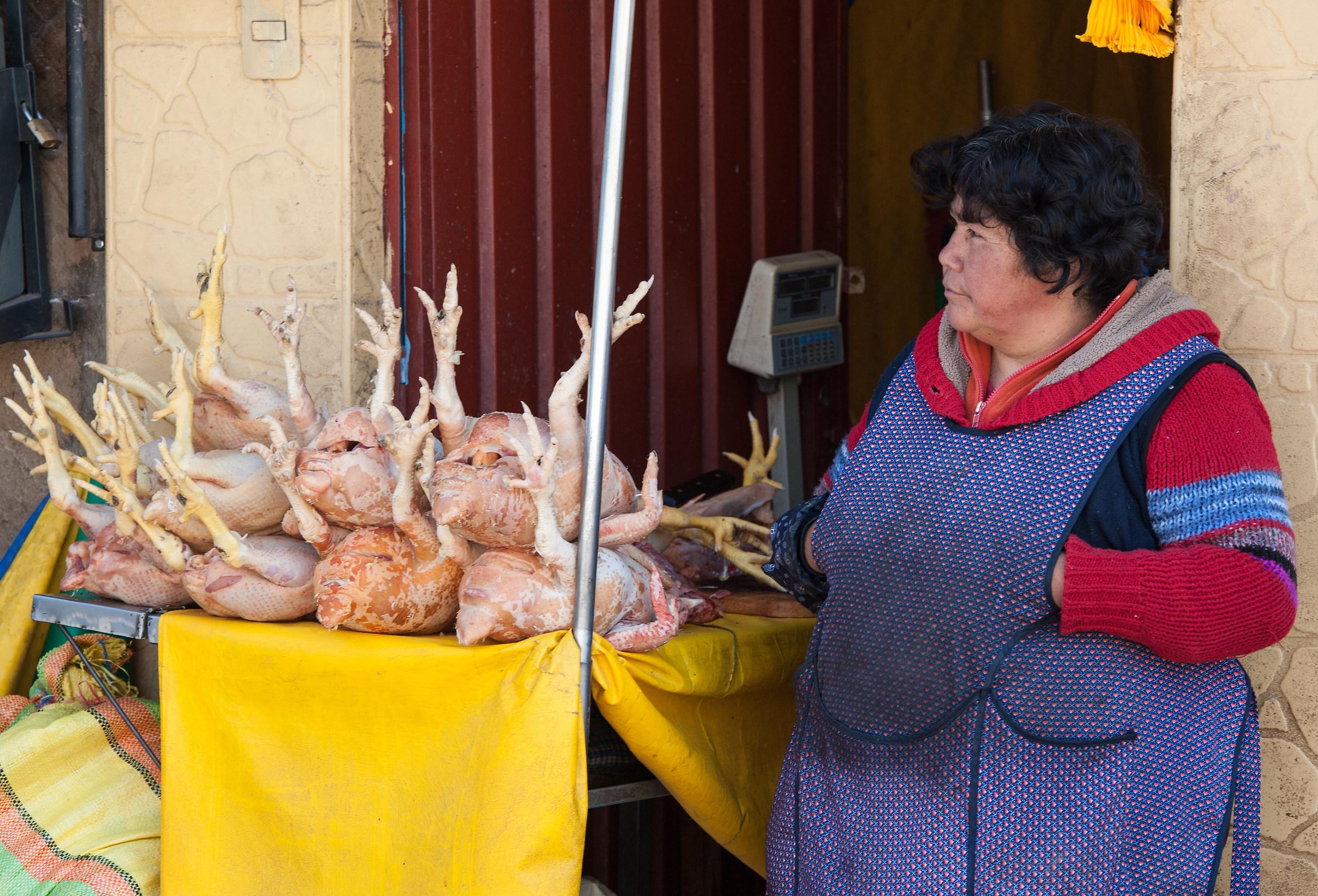Mercato di Cusco,...
