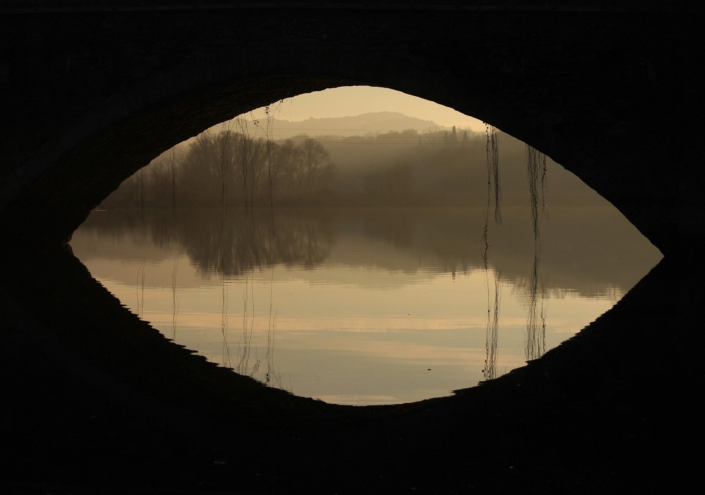The eye of Ponte Buriano...