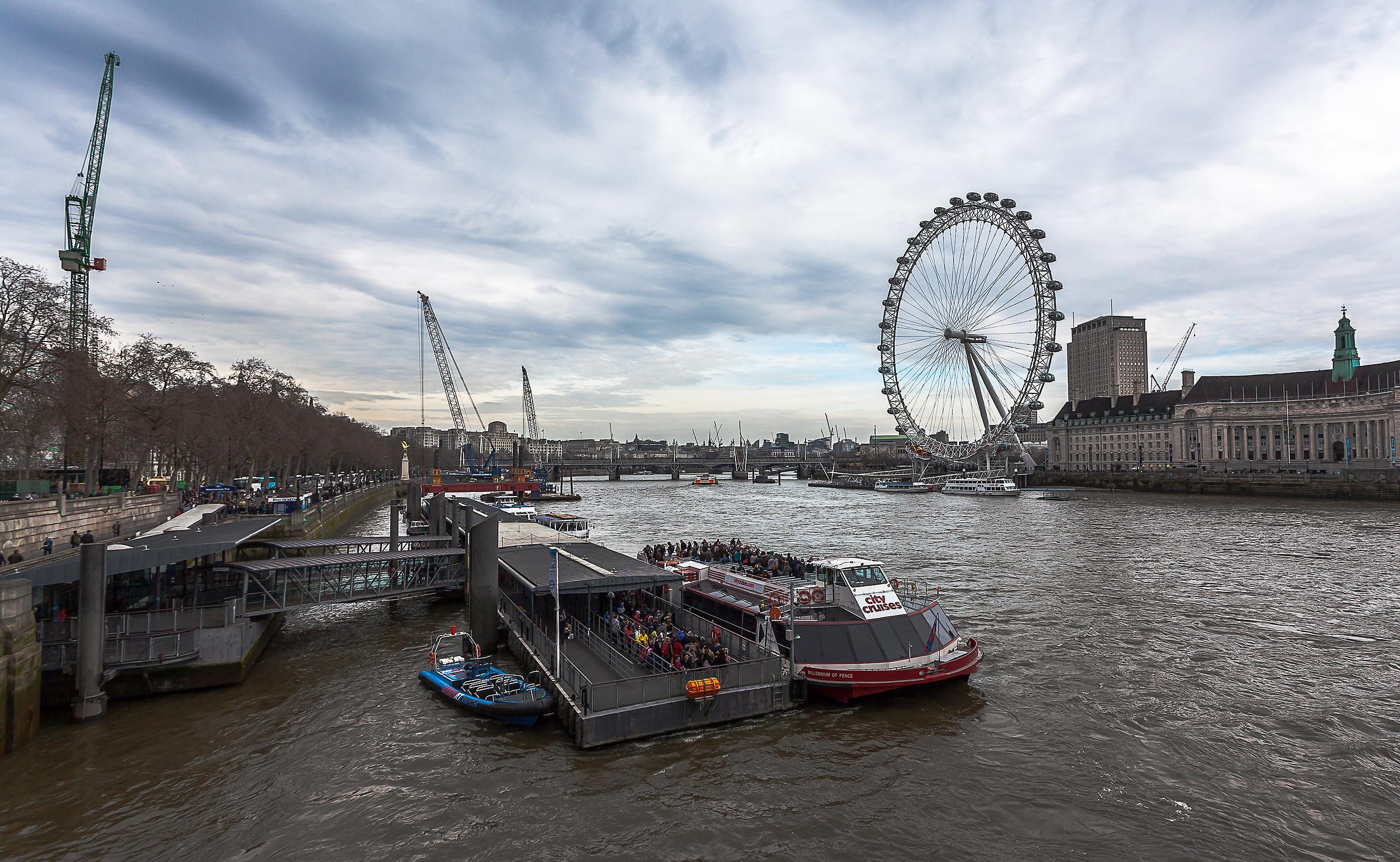 London eye...