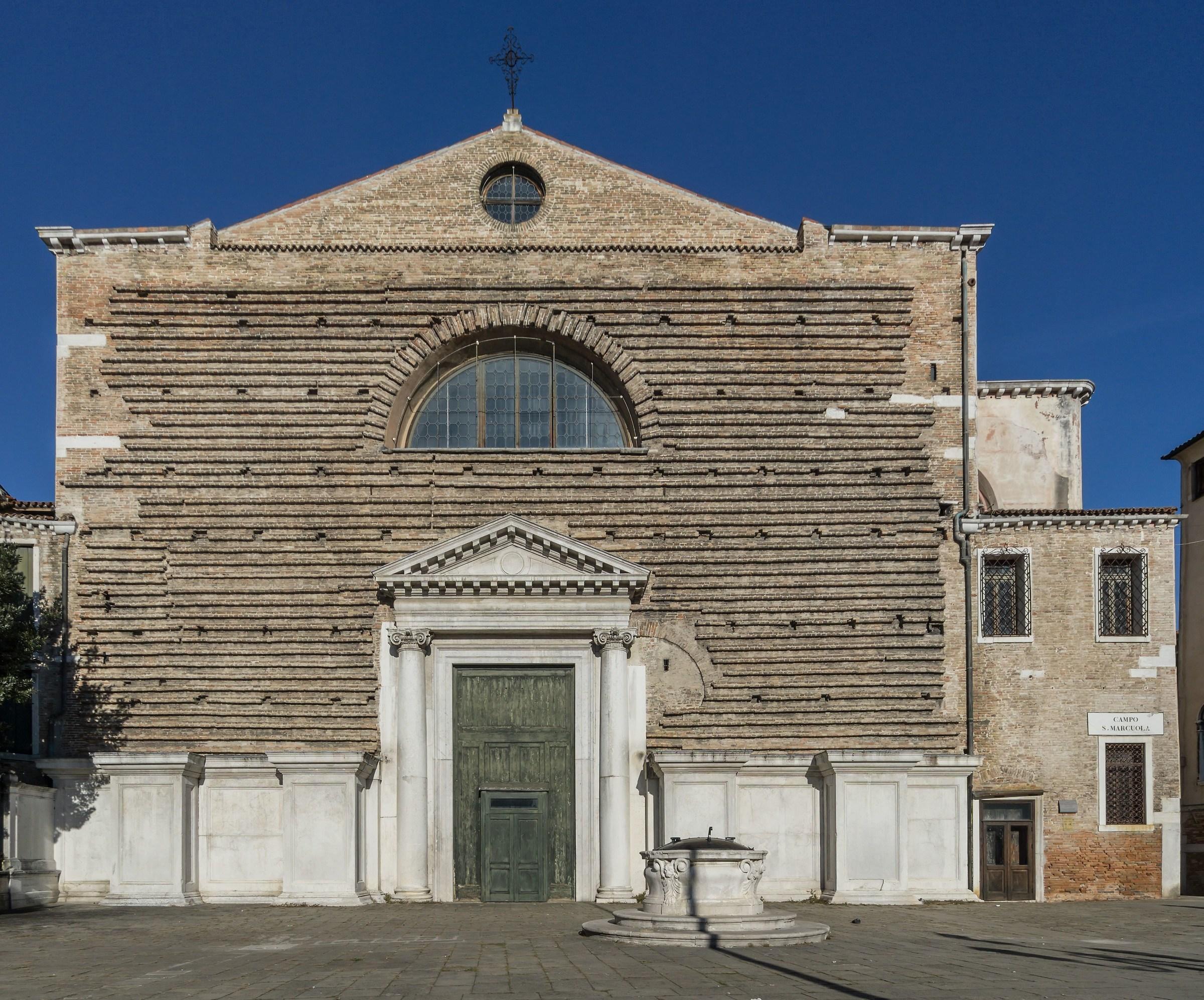Facciata della chiesa di San Marcuola - 1...