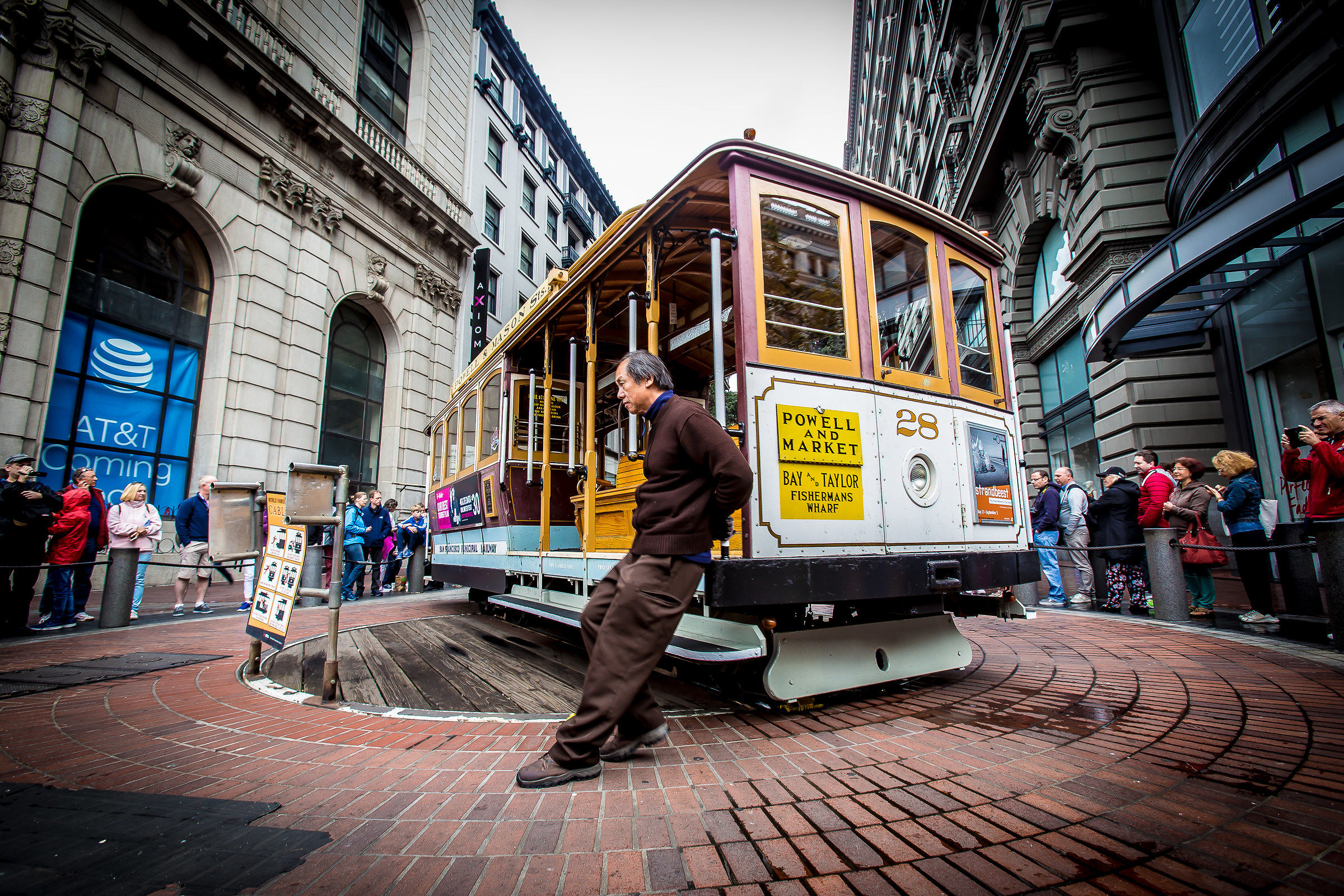 Cable Car, turn around!...