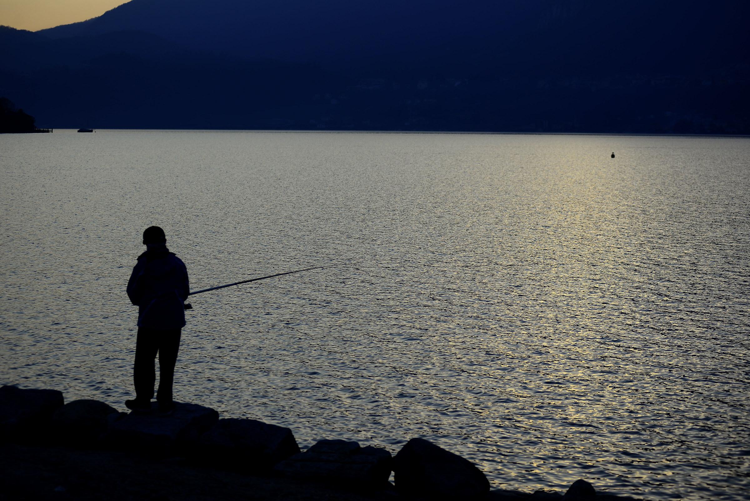 il pescatore...