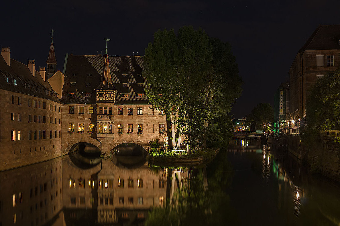 Nuremberg - Hospital of the Holy Spirit...