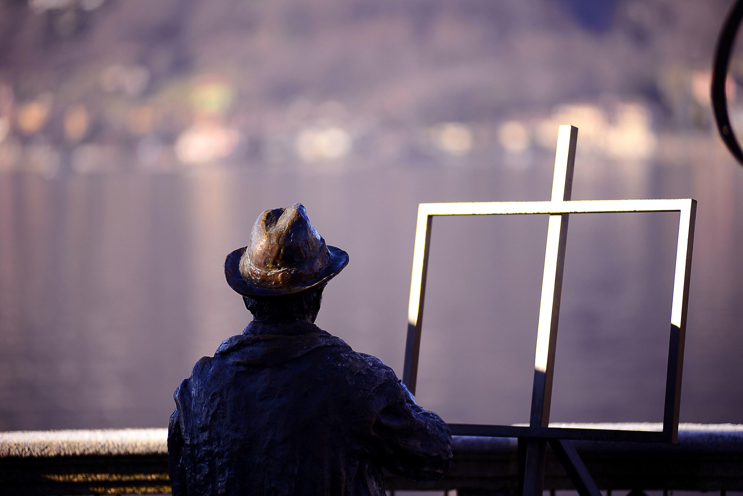 Il pittore...