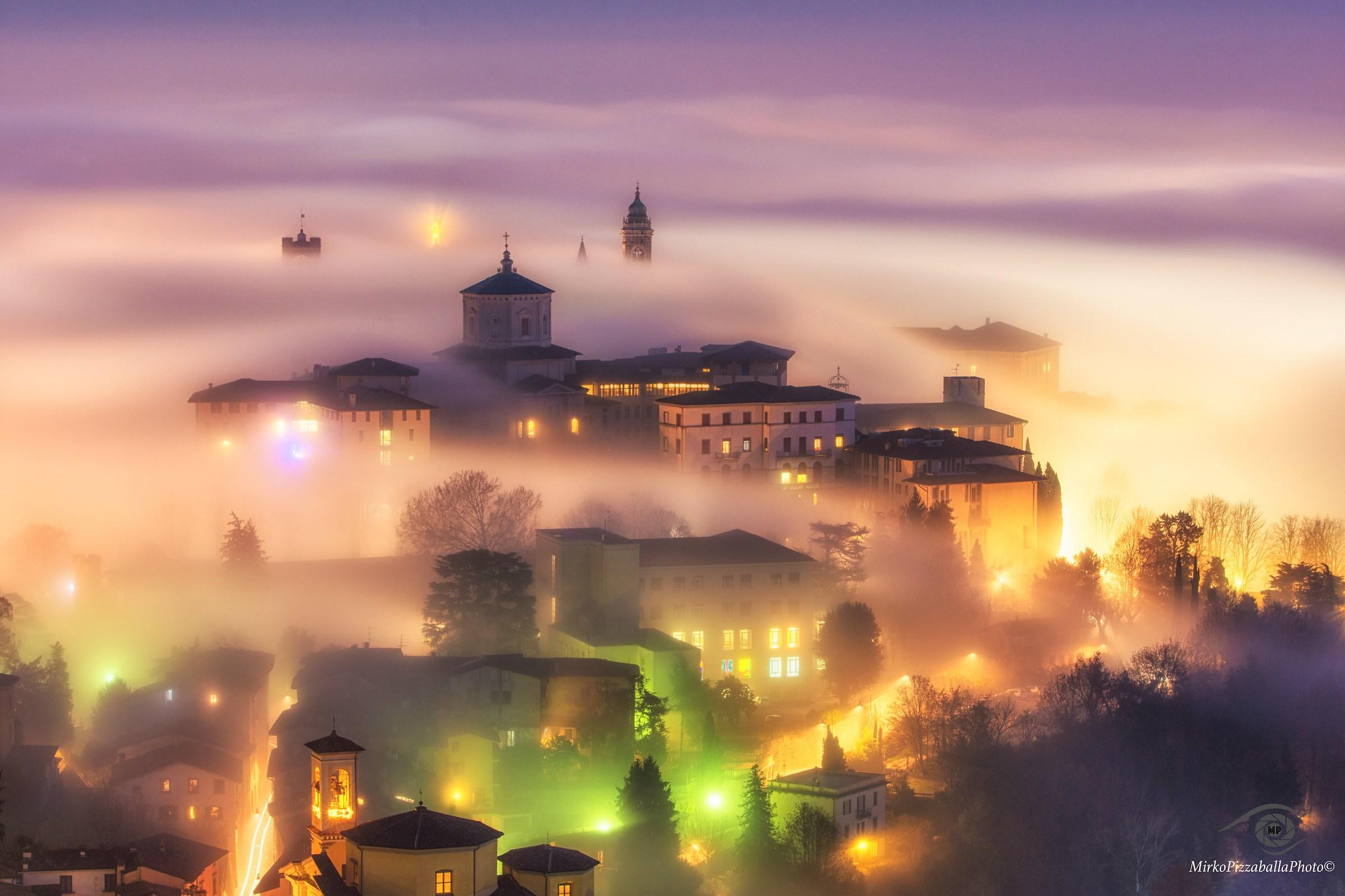 un mare di nebbia...