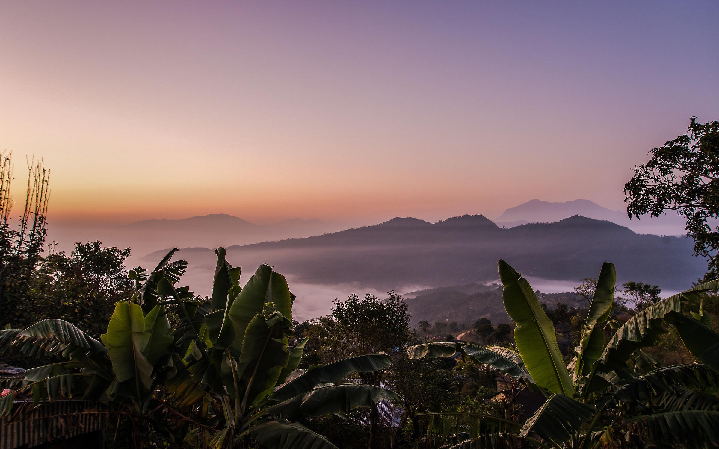 Sunrise in Palungtar...