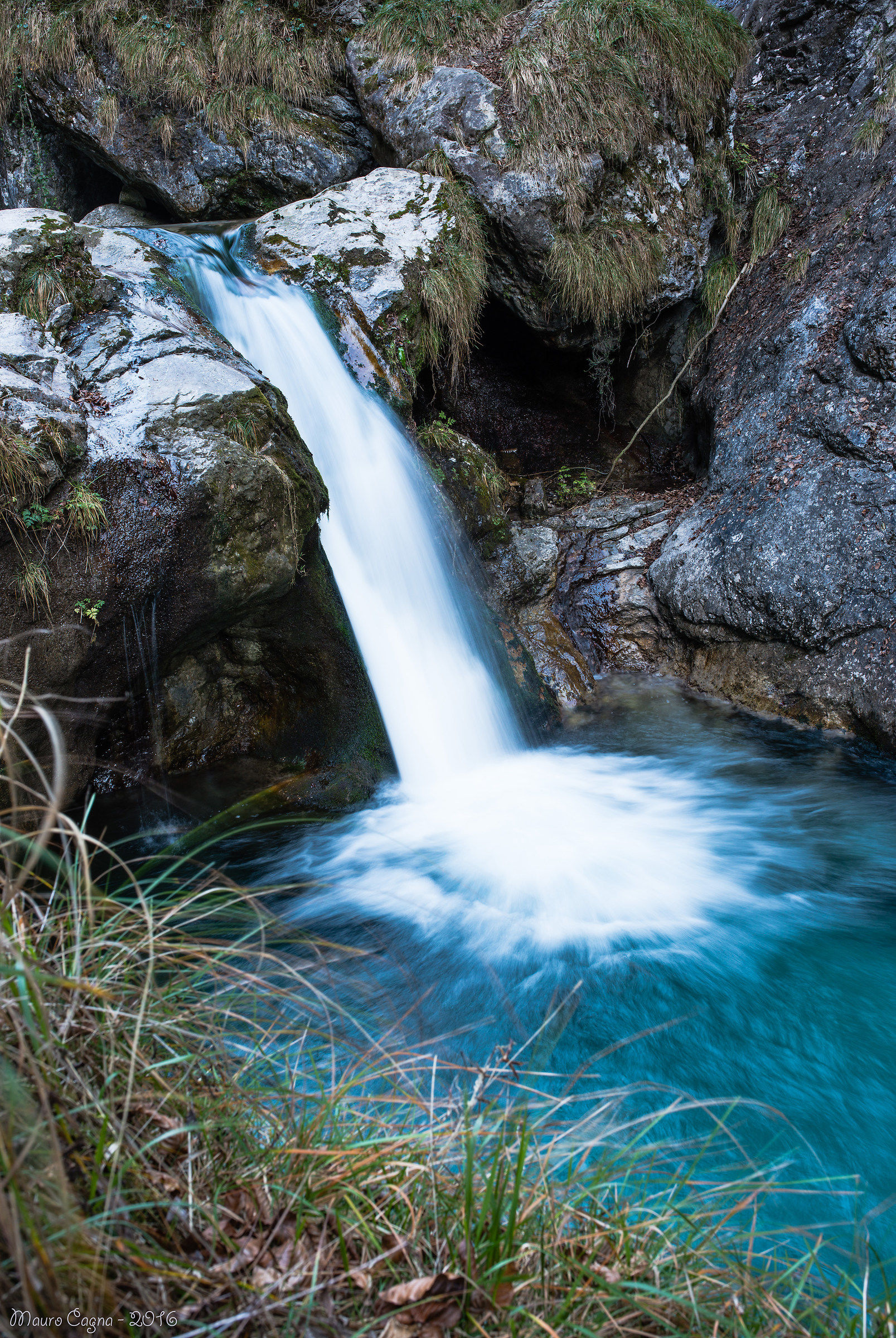 Cascata in Val Vertova...