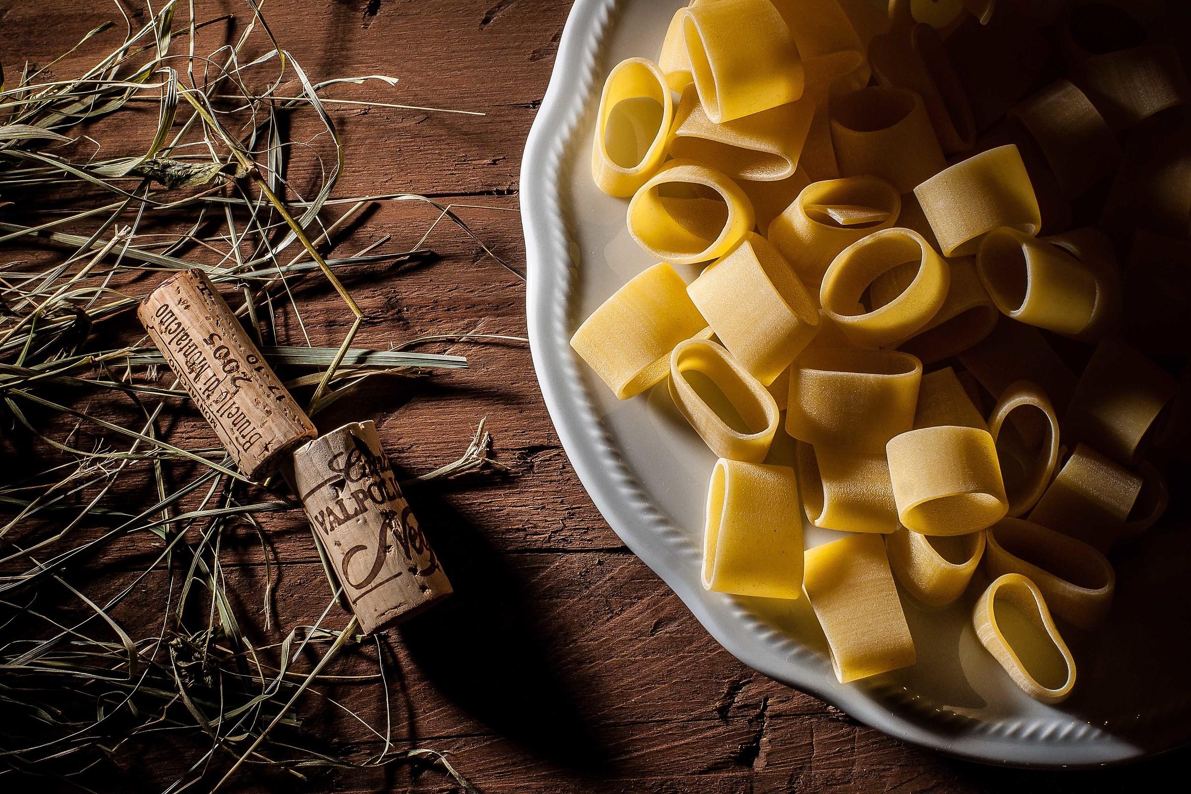 the pasta...