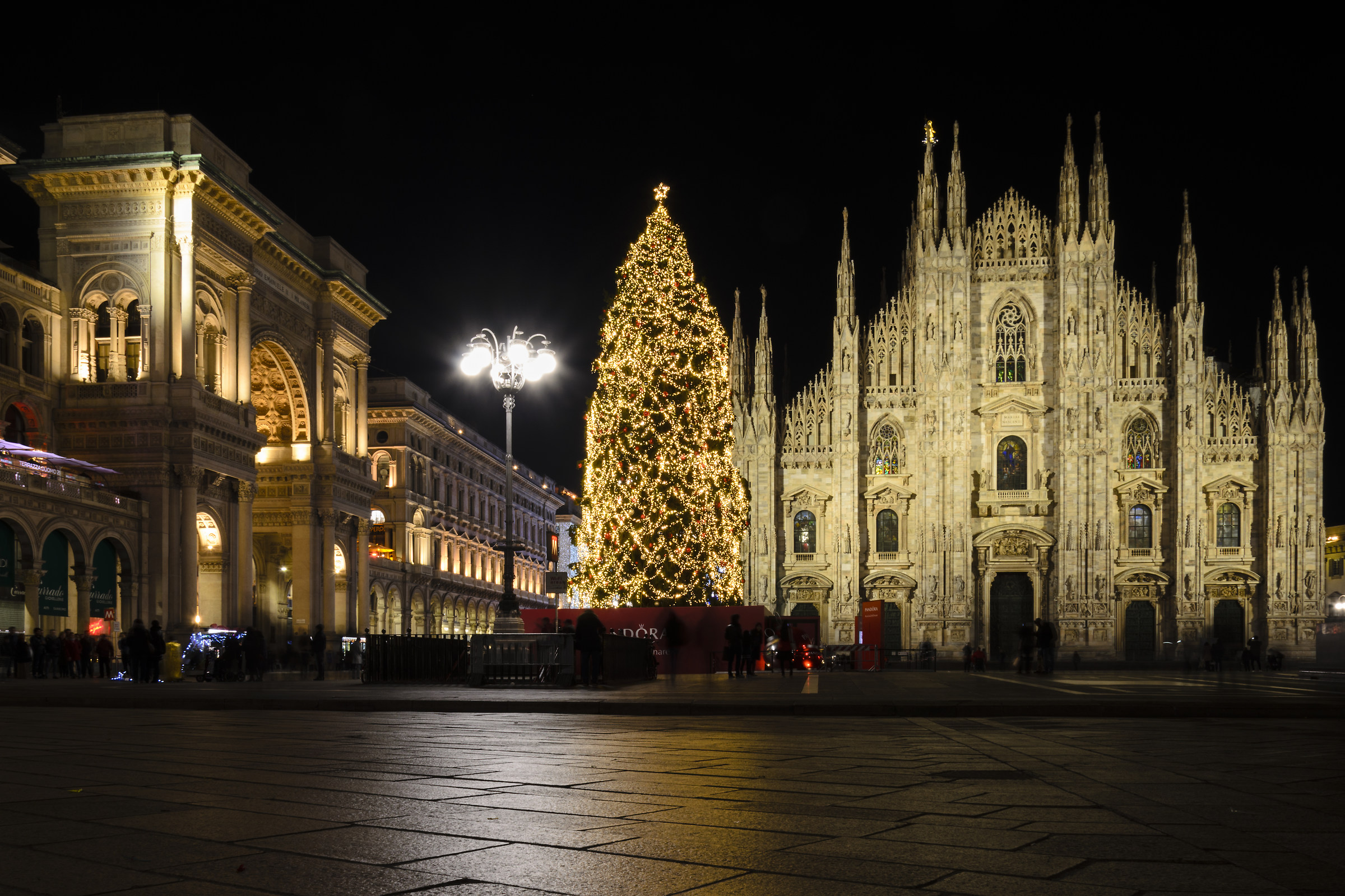 Milan Piazza Duomo Christmas 2016...