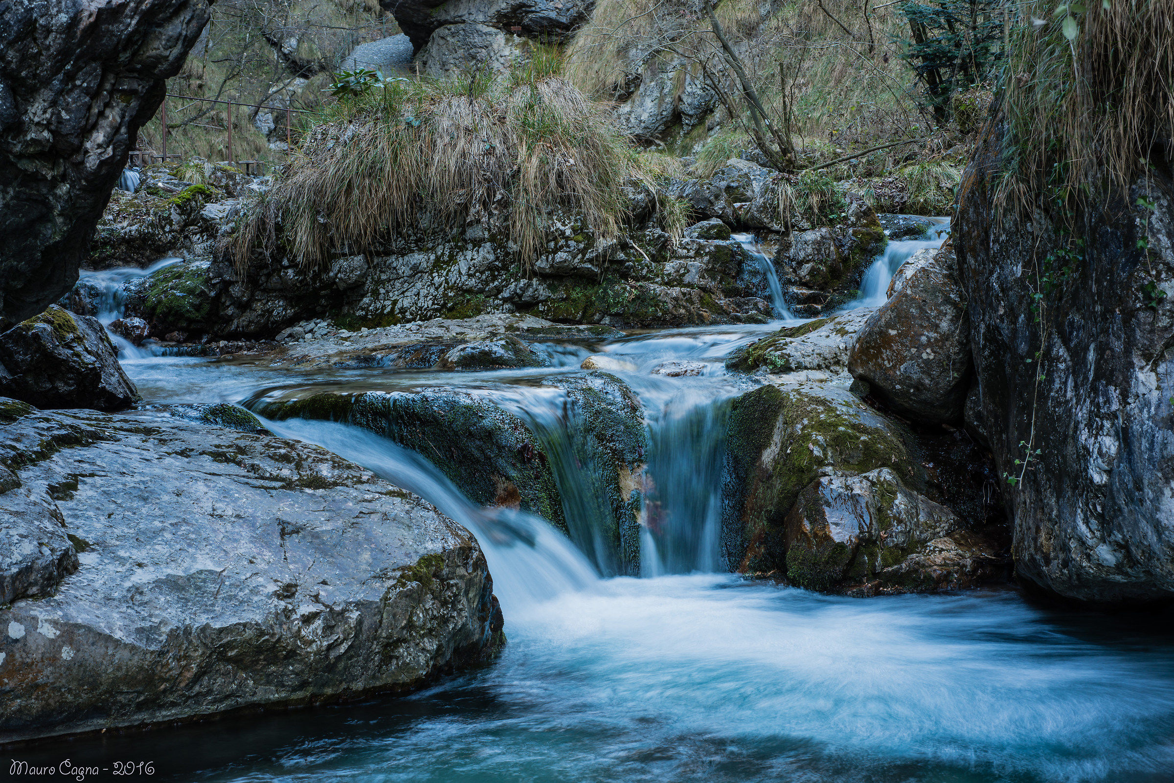 Altra cascata in Val Vertova...