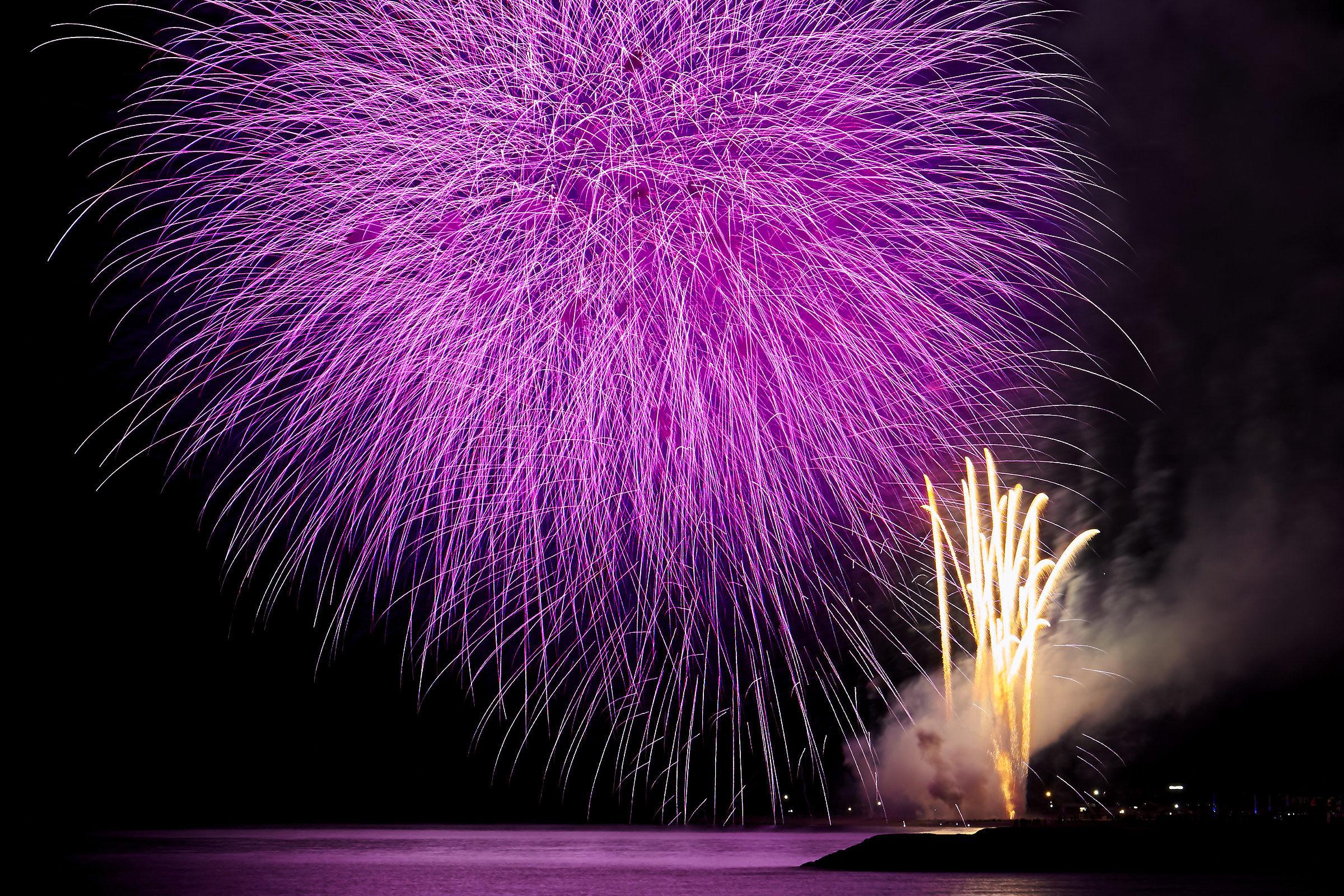 fireworks Rosolina Mare...
