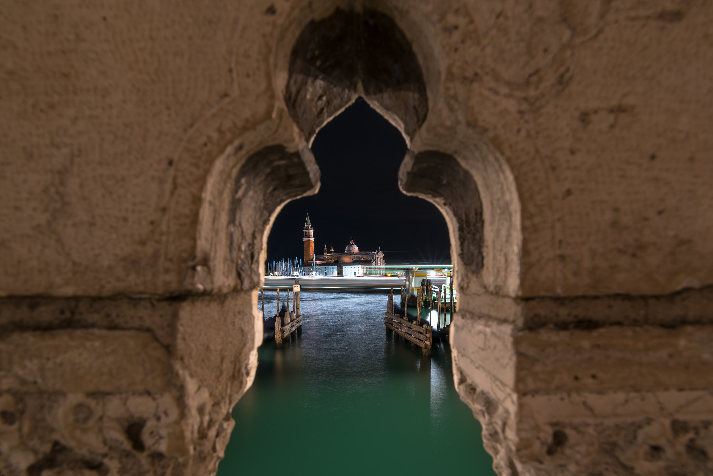 Lunghe esposizioni tra i ponti...