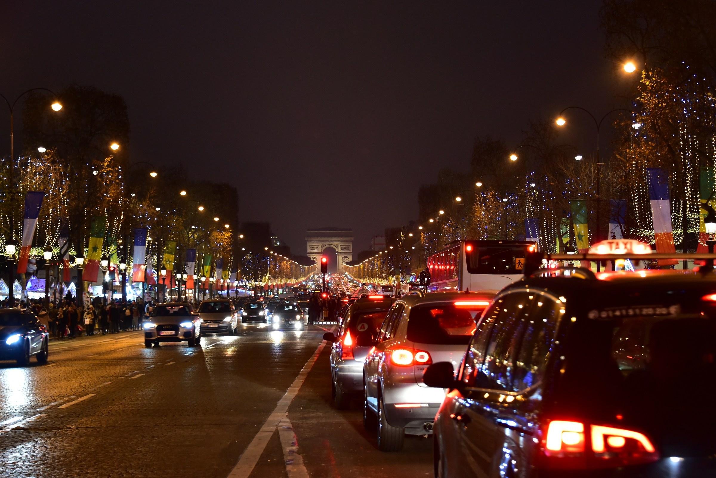Illuminations in Paris...